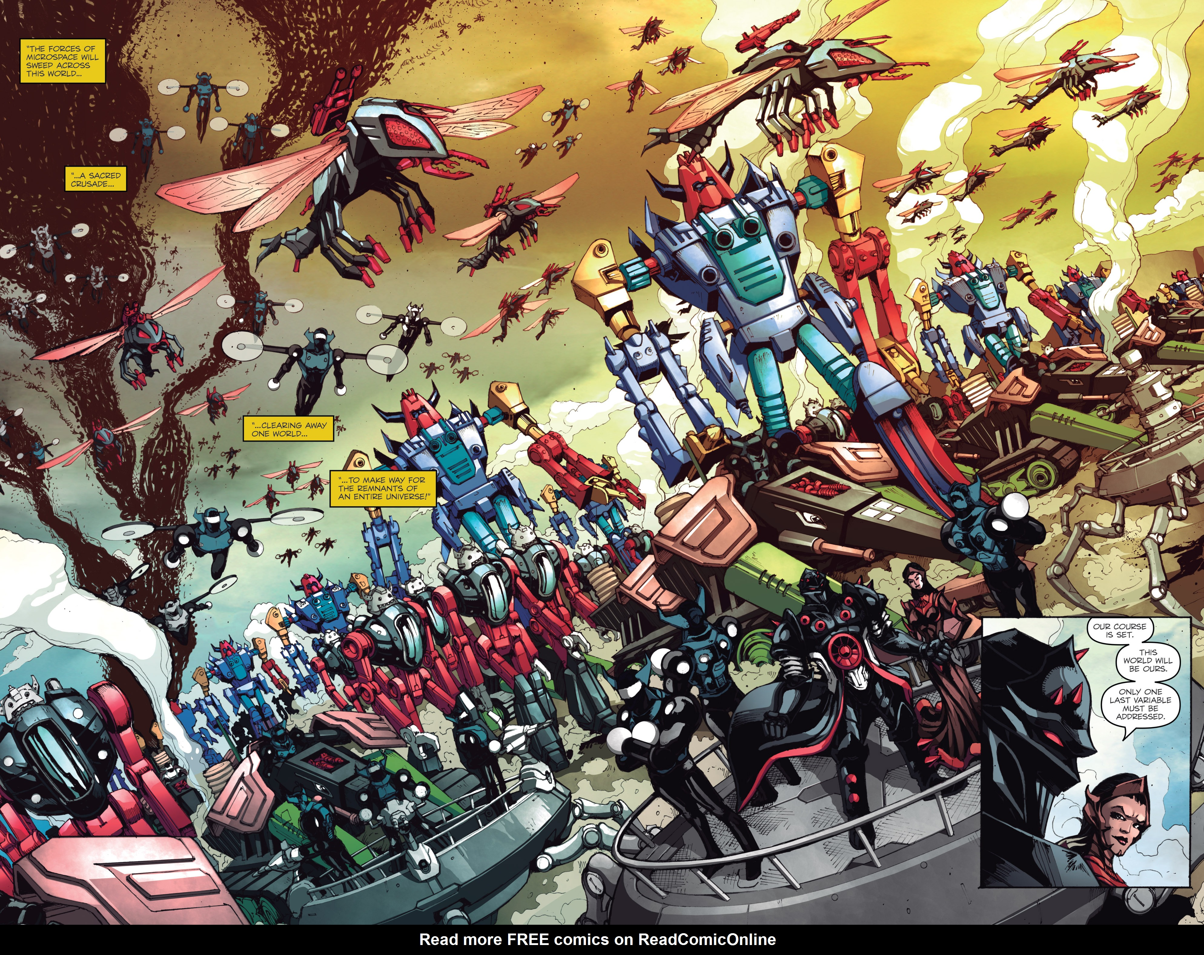 Read online Micronauts: Wrath of Karza comic -  Issue #1 - 22