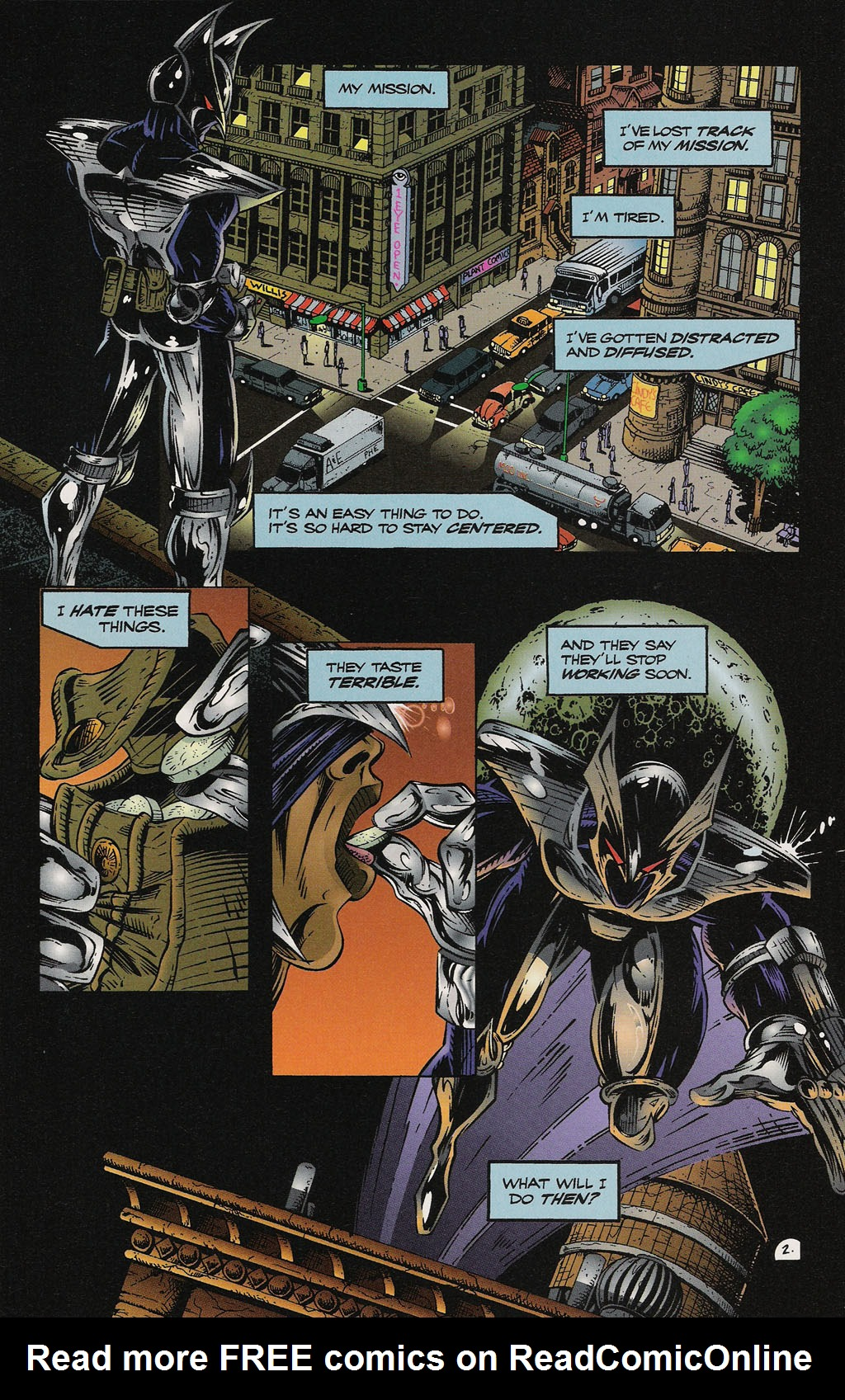Read online ShadowHawk Gallery comic -  Issue # Full - 29