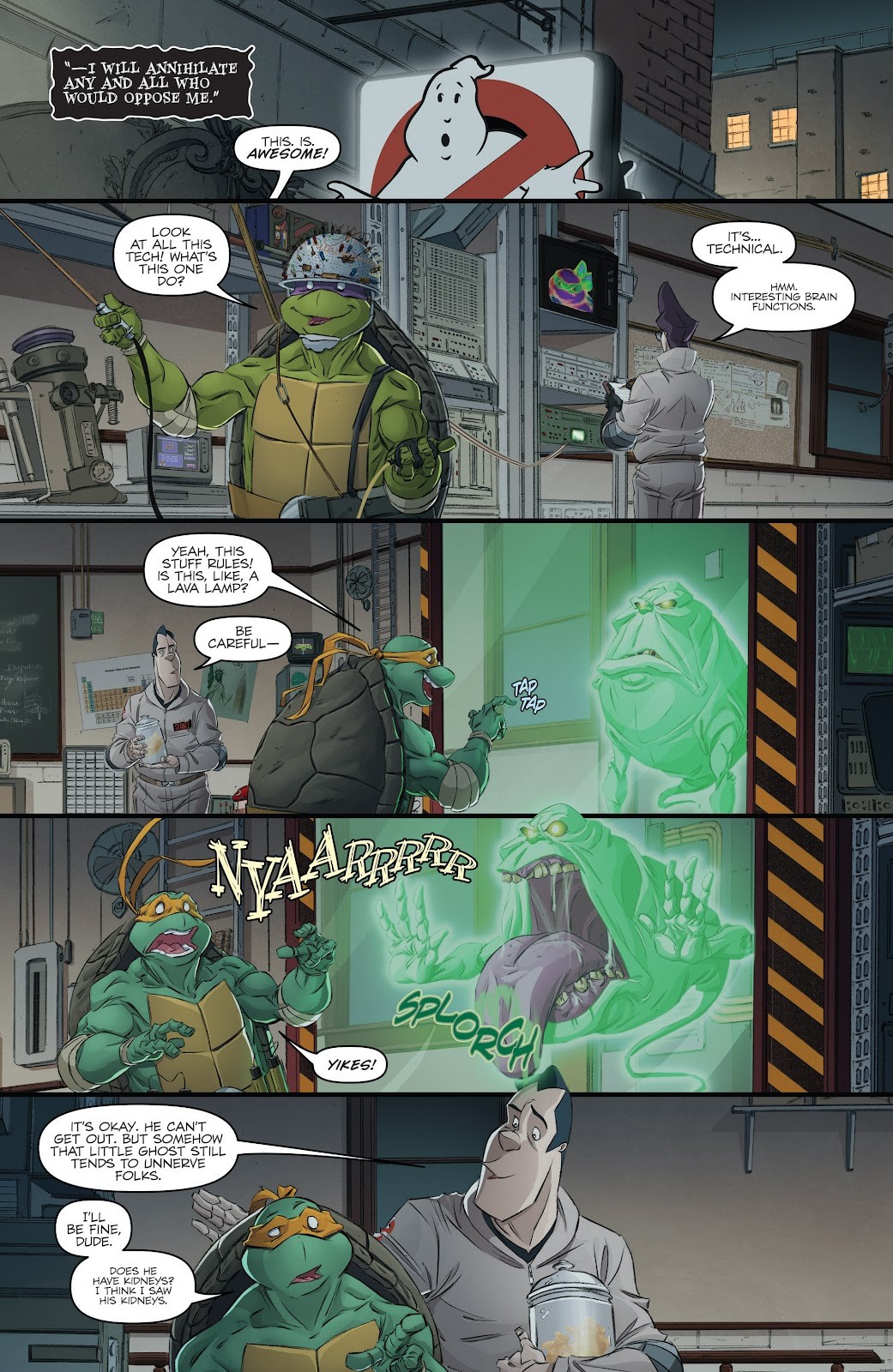 Read online Teenage Mutant Ninja Turtles: The IDW Collection comic -  Issue # TPB 5 (Part 3) - 5