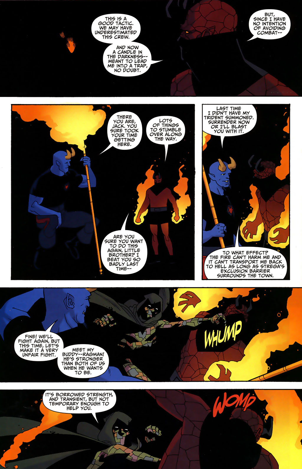 Read online Shadowpact comic -  Issue #3 - 17