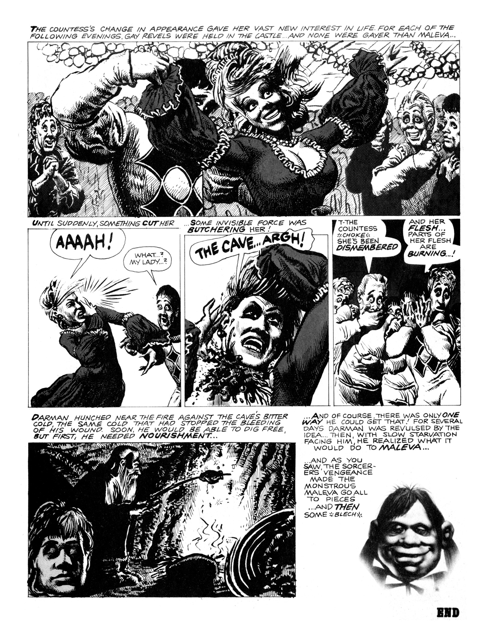 Read online Eerie Archives comic -  Issue # TPB 18 - 78