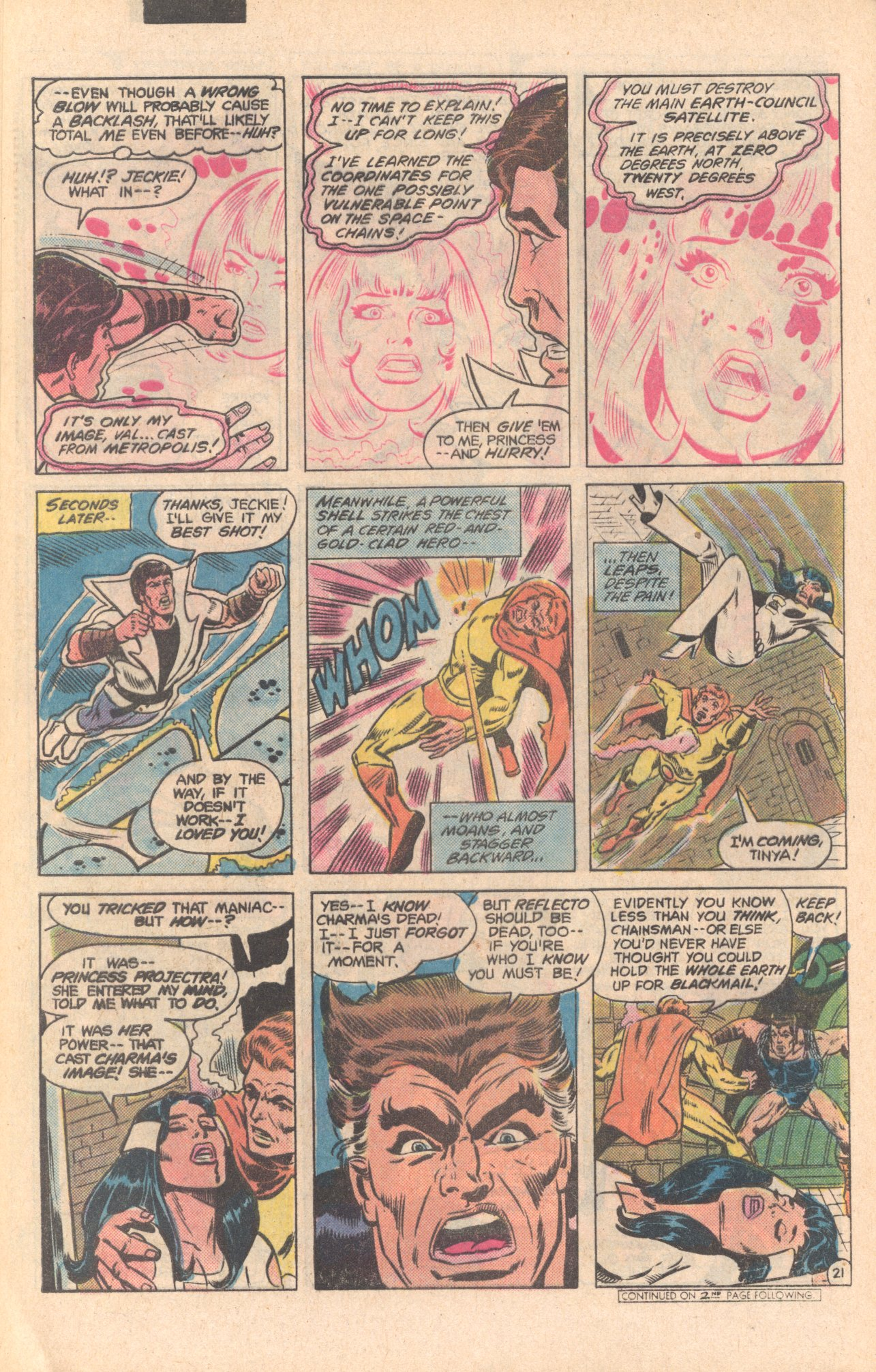 Legion of Super-Heroes (1980) 279 Page 21