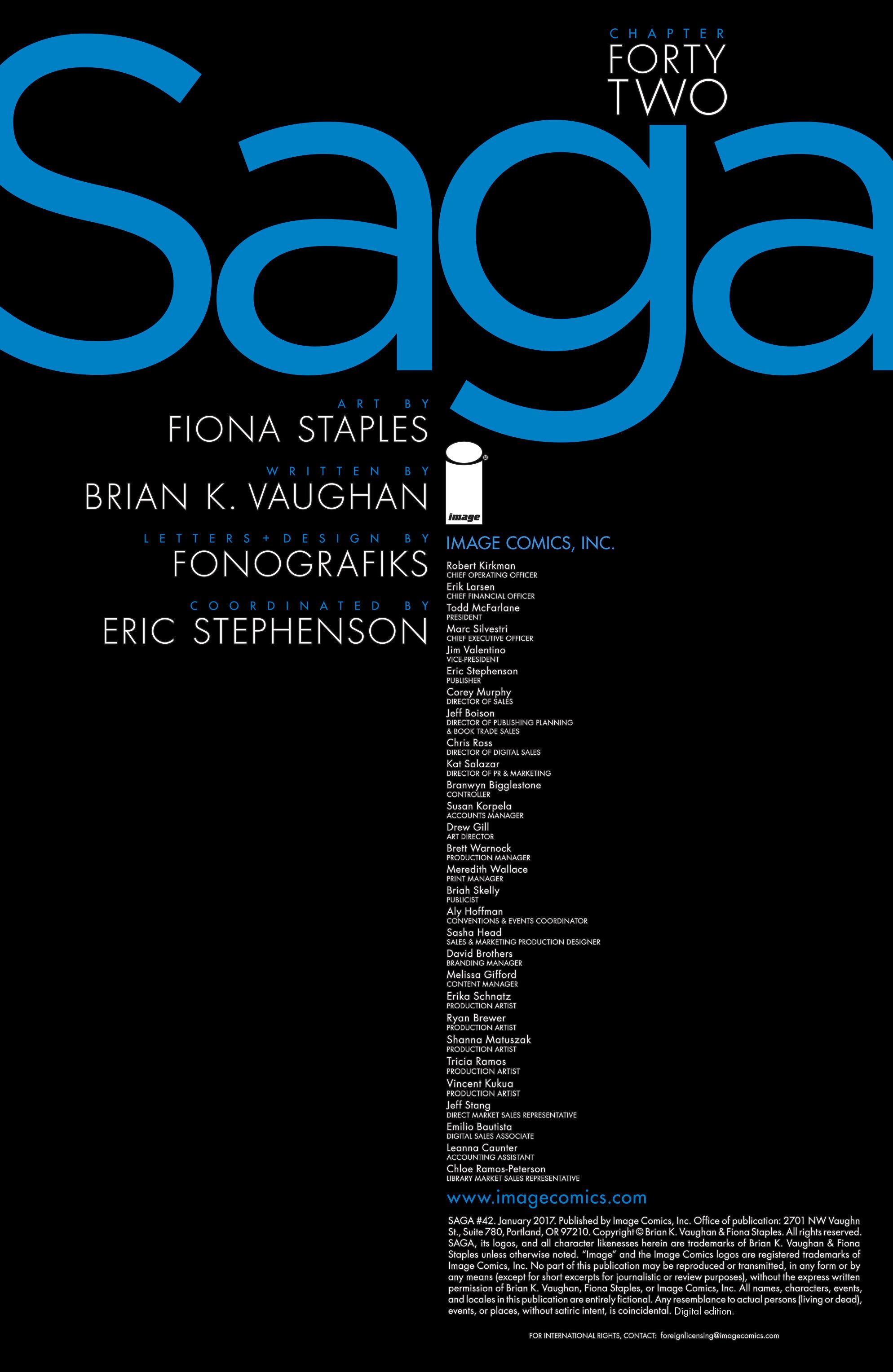 Read online Saga comic -  Issue #42 - 2