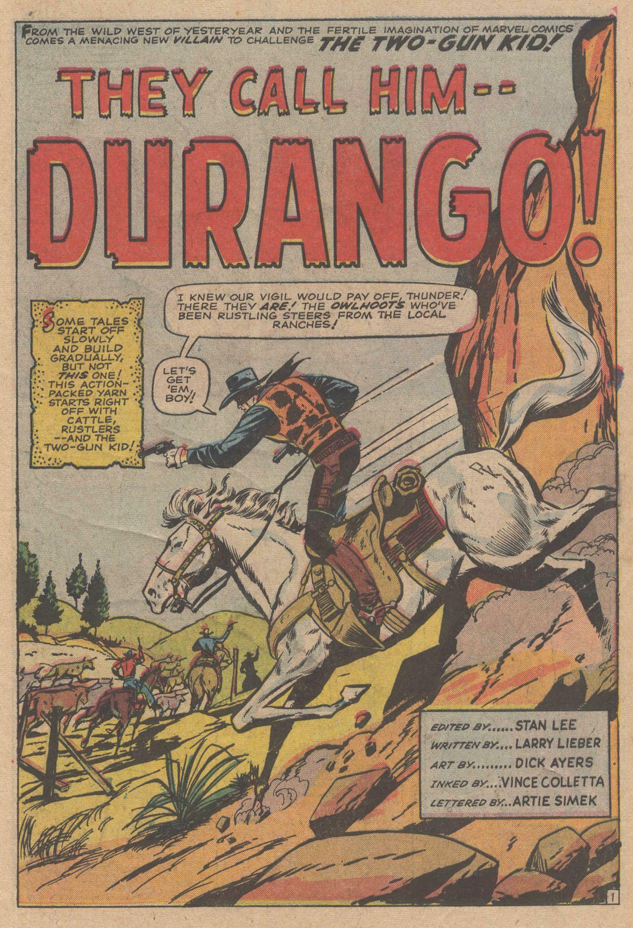 Read online Two-Gun Kid comic -  Issue #83 - 3