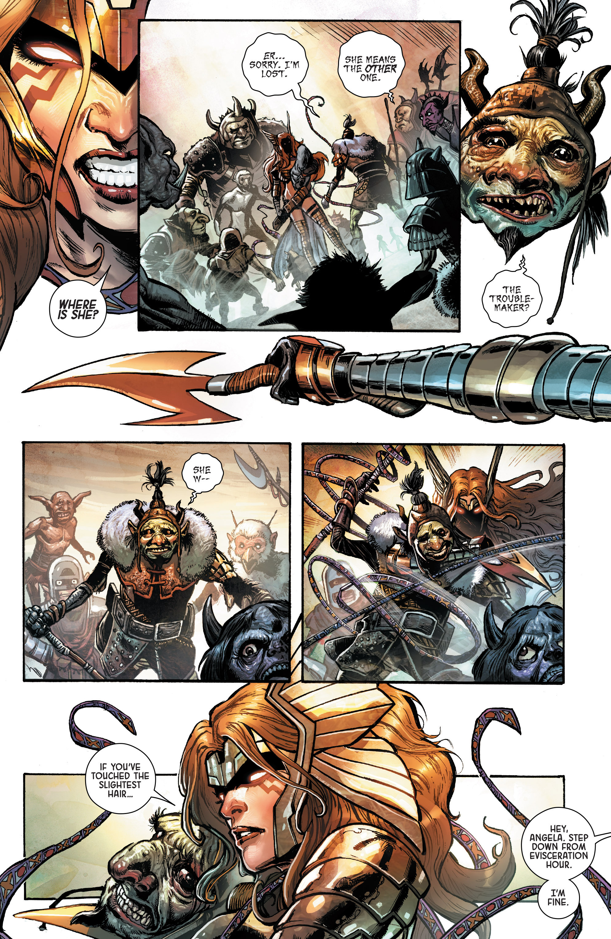 Read online Angela: Asgard's Assassin comic -  Issue #1 - 5