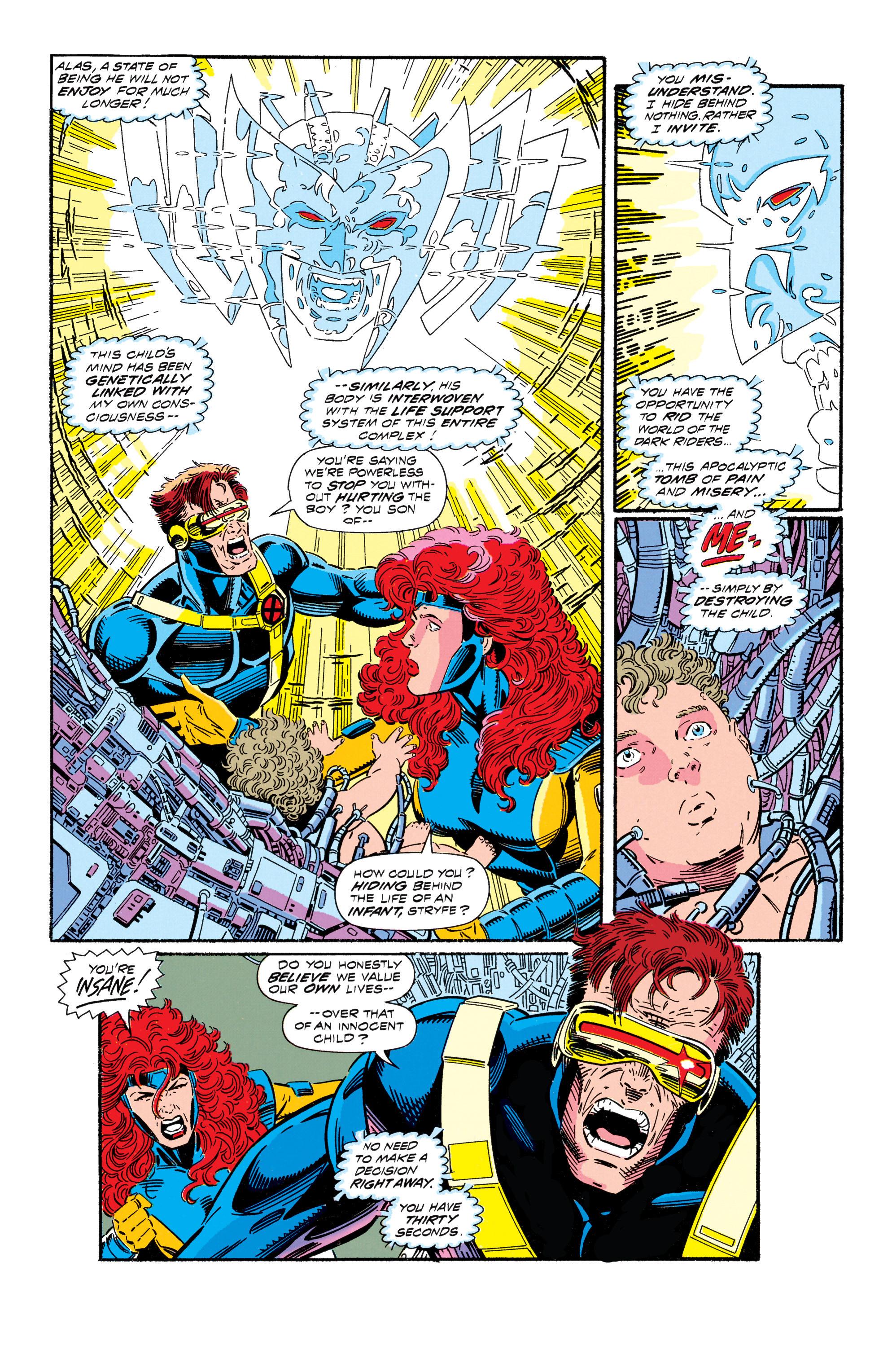 Read online Uncanny X-Men (1963) comic -  Issue #296 - 17