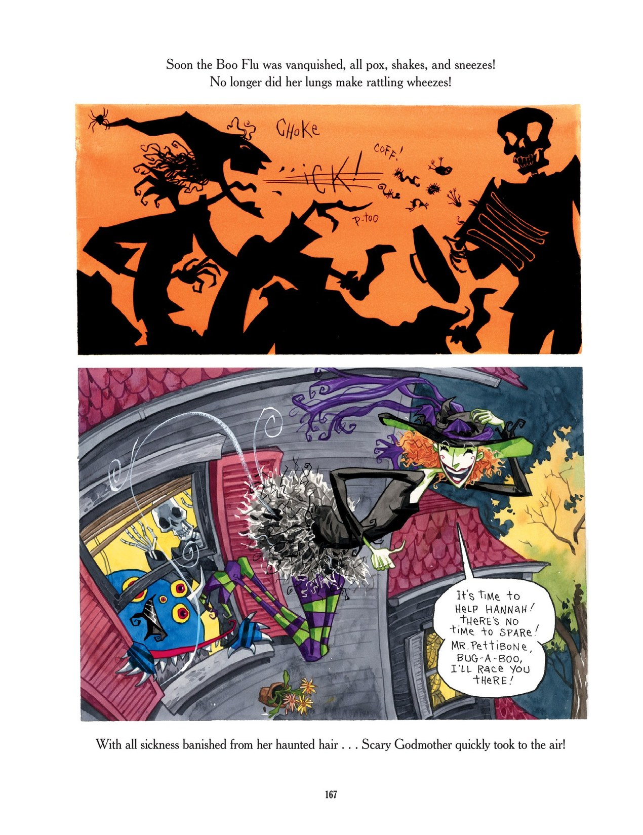Read online Scary Godmother comic -  Issue # TPB - 167