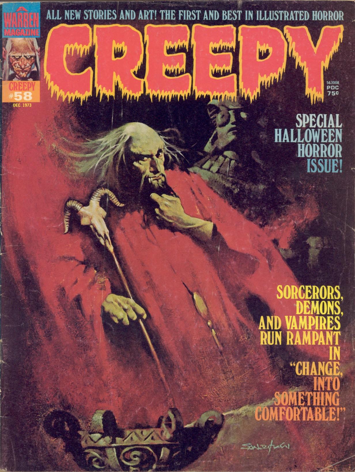Creepy (1964) 58 Page 1
