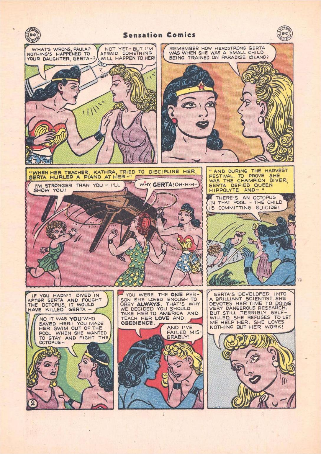 Read online Sensation (Mystery) Comics comic -  Issue #55 - 4