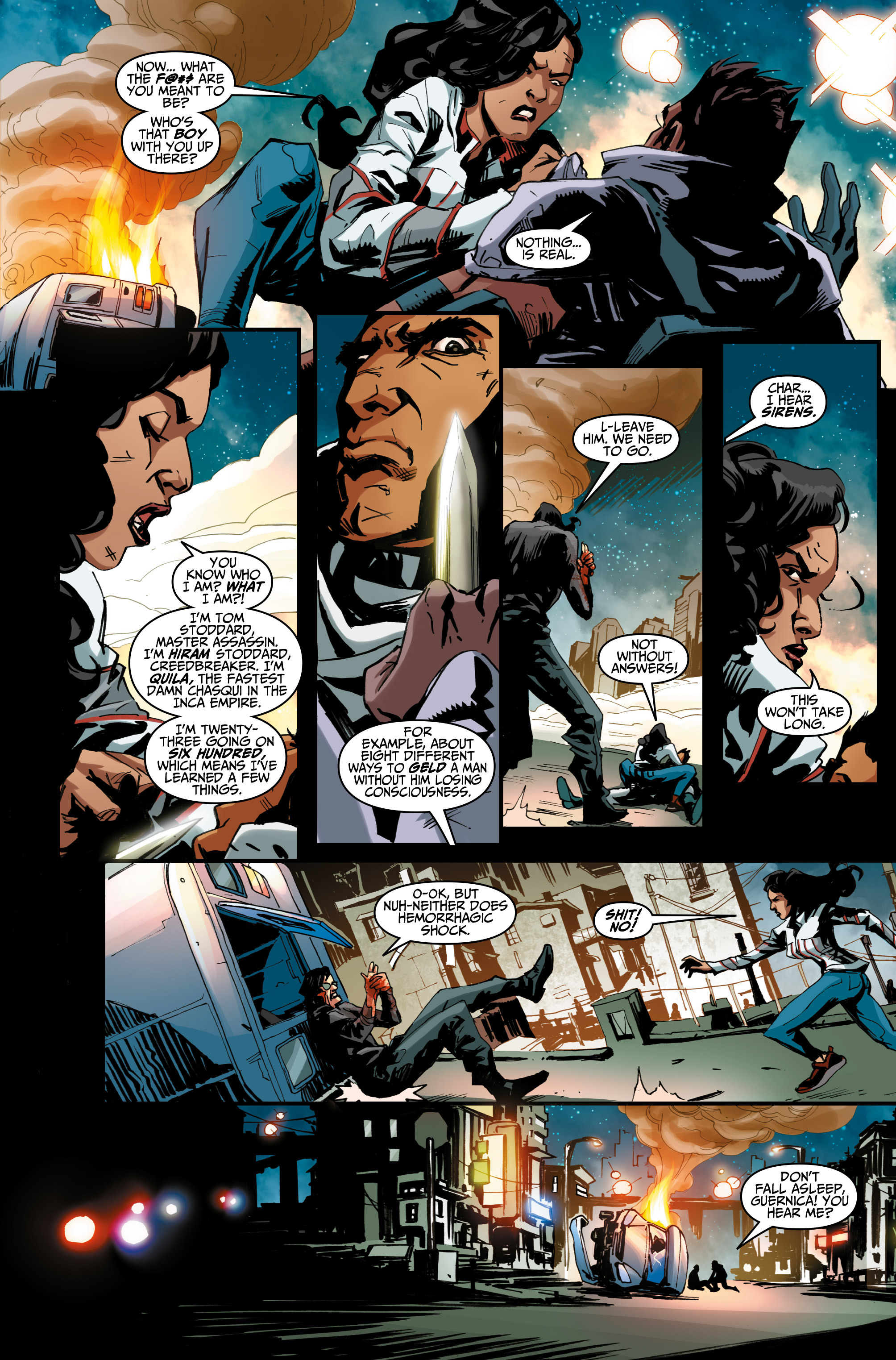 Read online Assassin's Creed: Uprising comic -  Issue #1 - 15