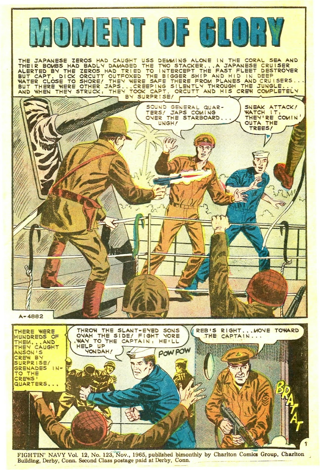 Read online Fightin' Navy comic -  Issue #123 - 3