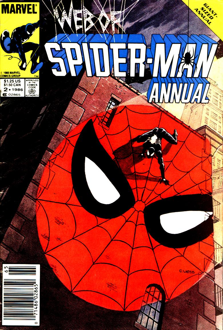 Web of Spider-Man (1985) _Annual_2 Page 1