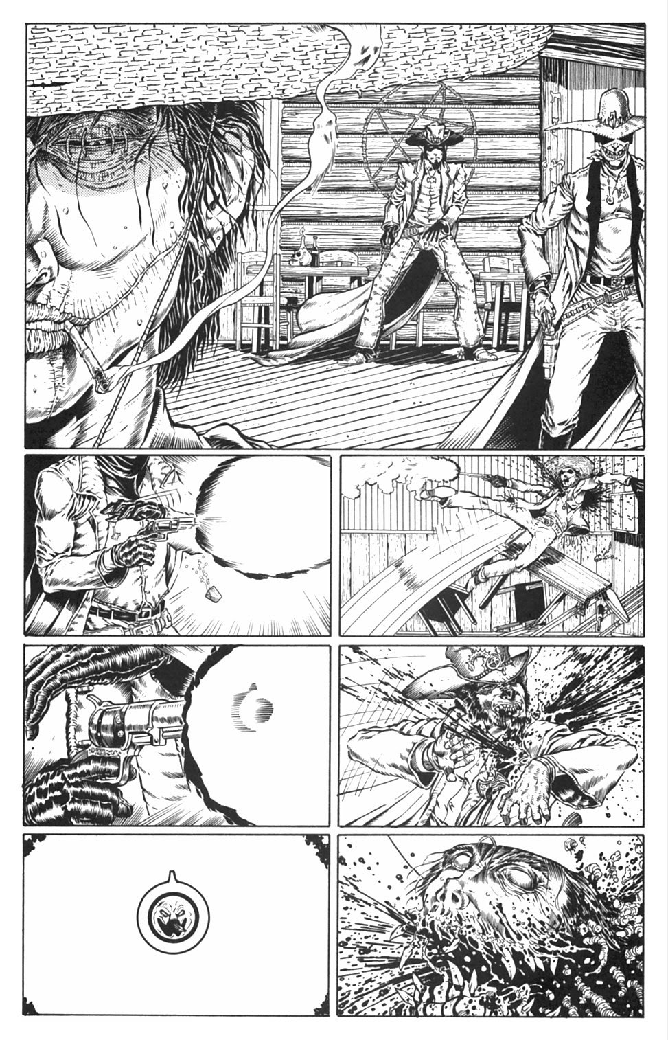 Read online Gunfighters in Hell comic -  Issue #3 - 21
