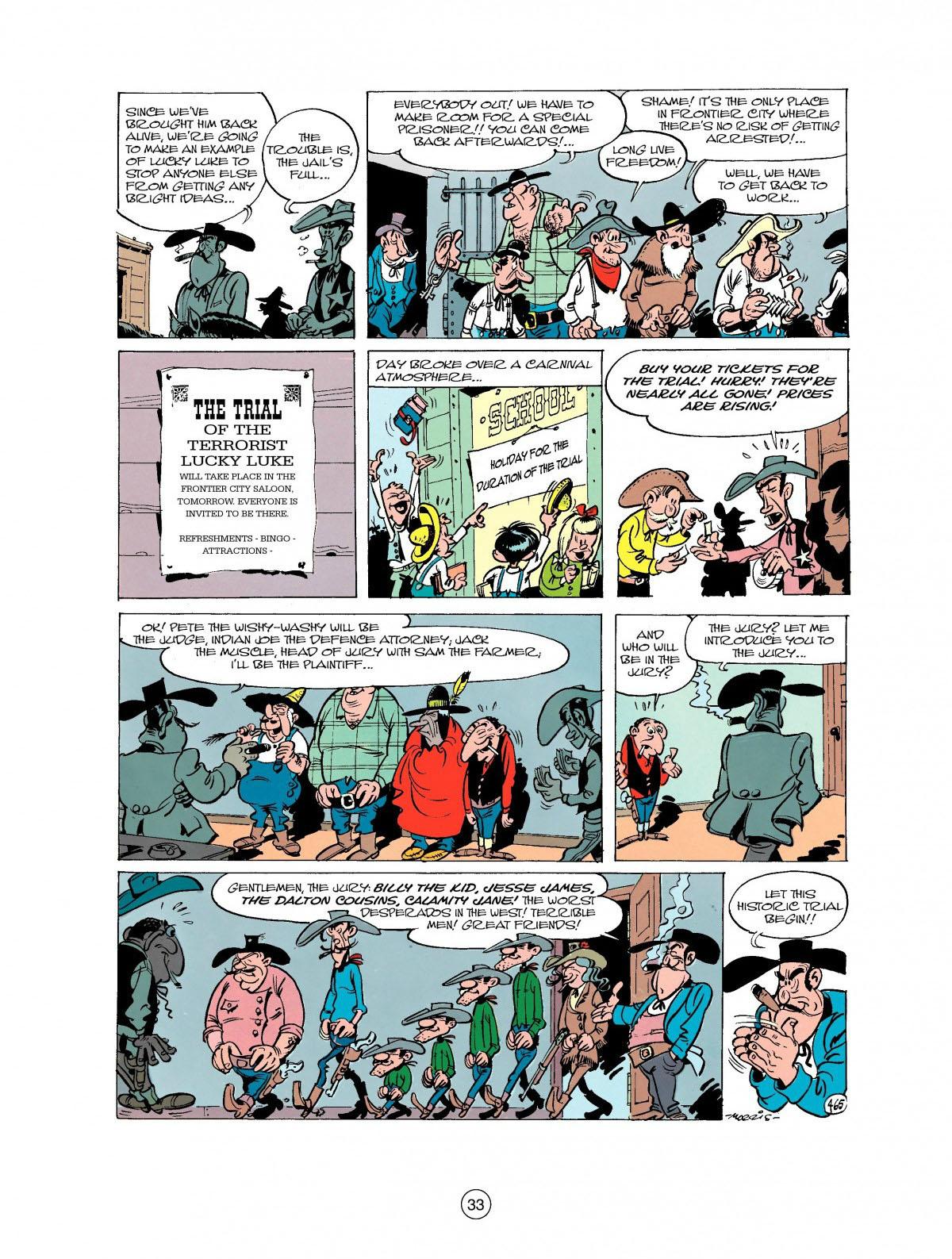 Read online A Lucky Luke Adventure comic -  Issue #27 - 34