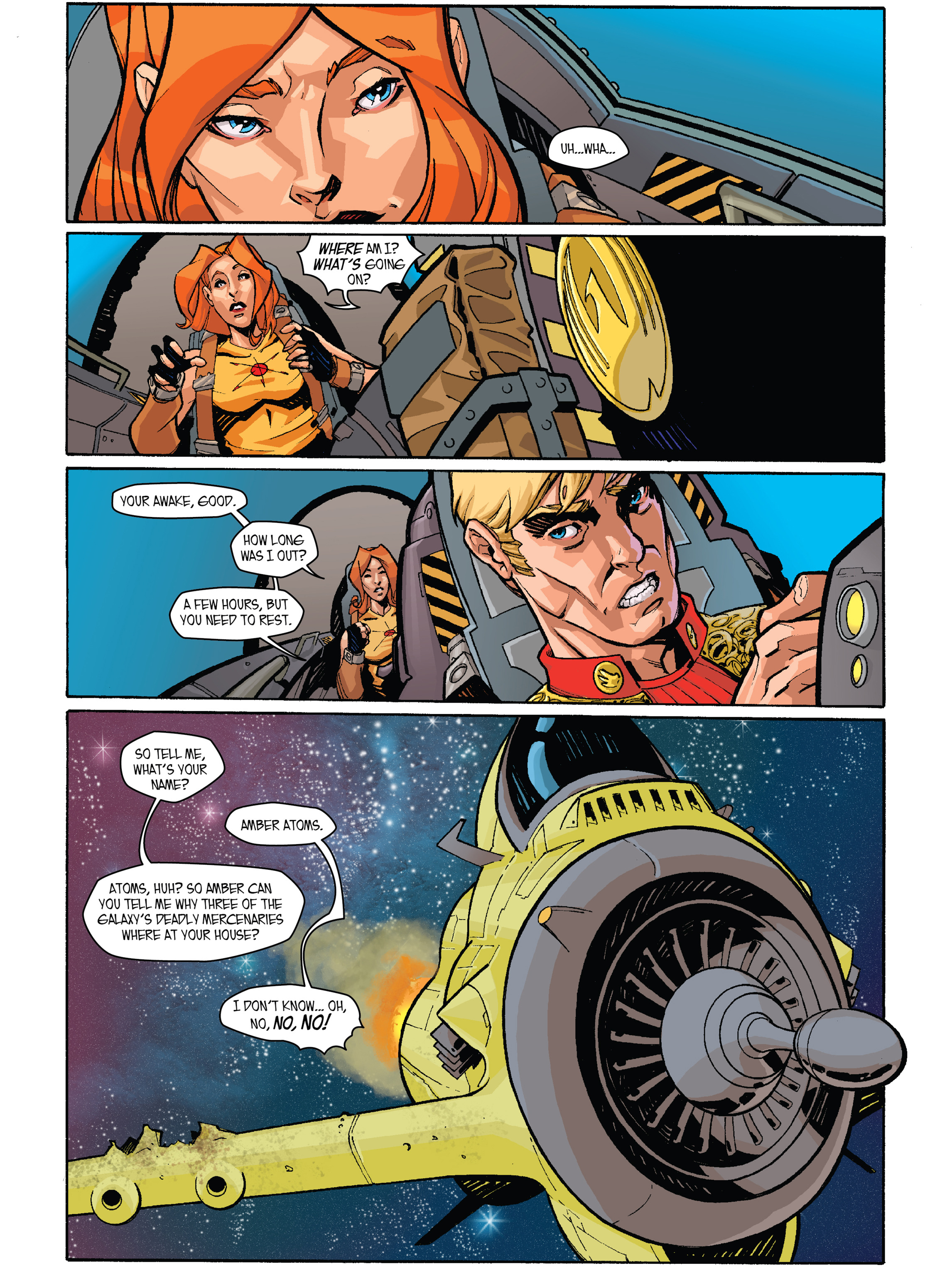 Read online Amber Atoms comic -  Issue #2 - 9
