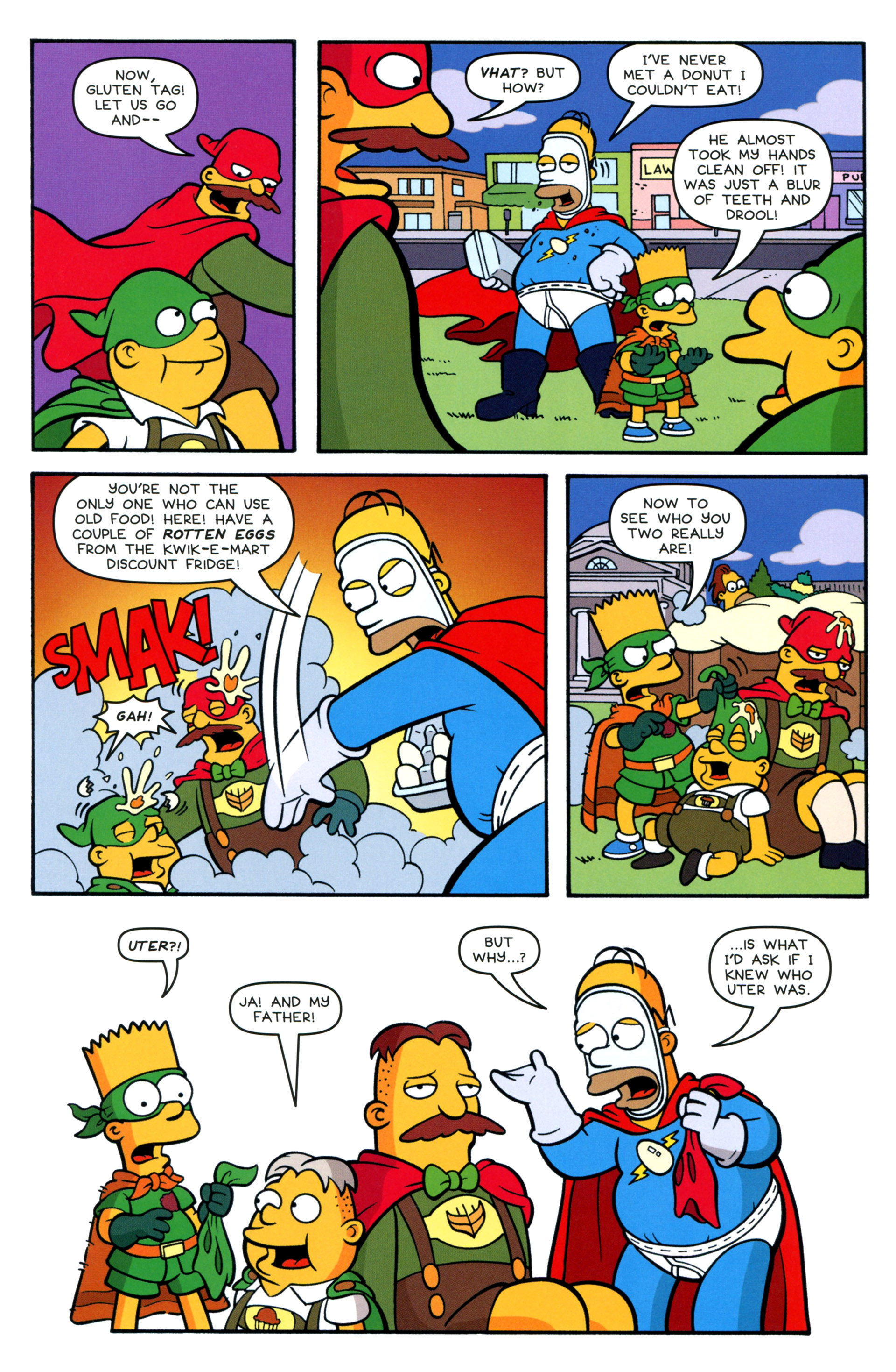 Read online Simpsons Comics Presents Bart Simpson comic -  Issue #88 - 25