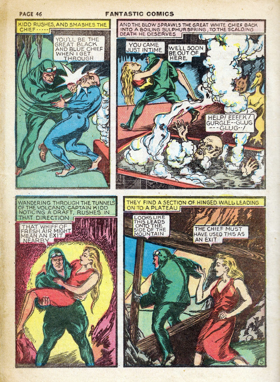 Read online Fantastic Comics comic -  Issue #7 - 48