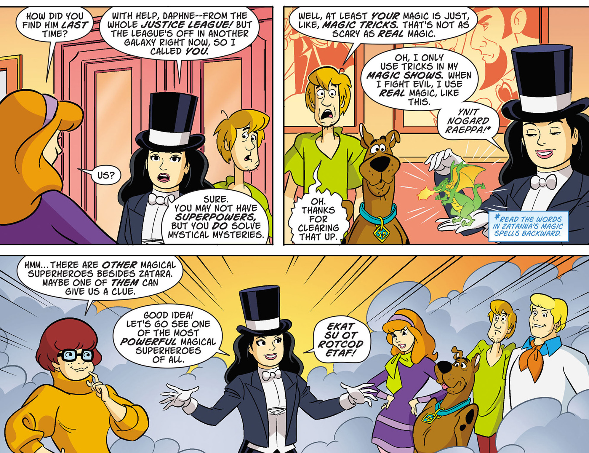 Read online Scooby-Doo! Team-Up comic -  Issue #37 - 9