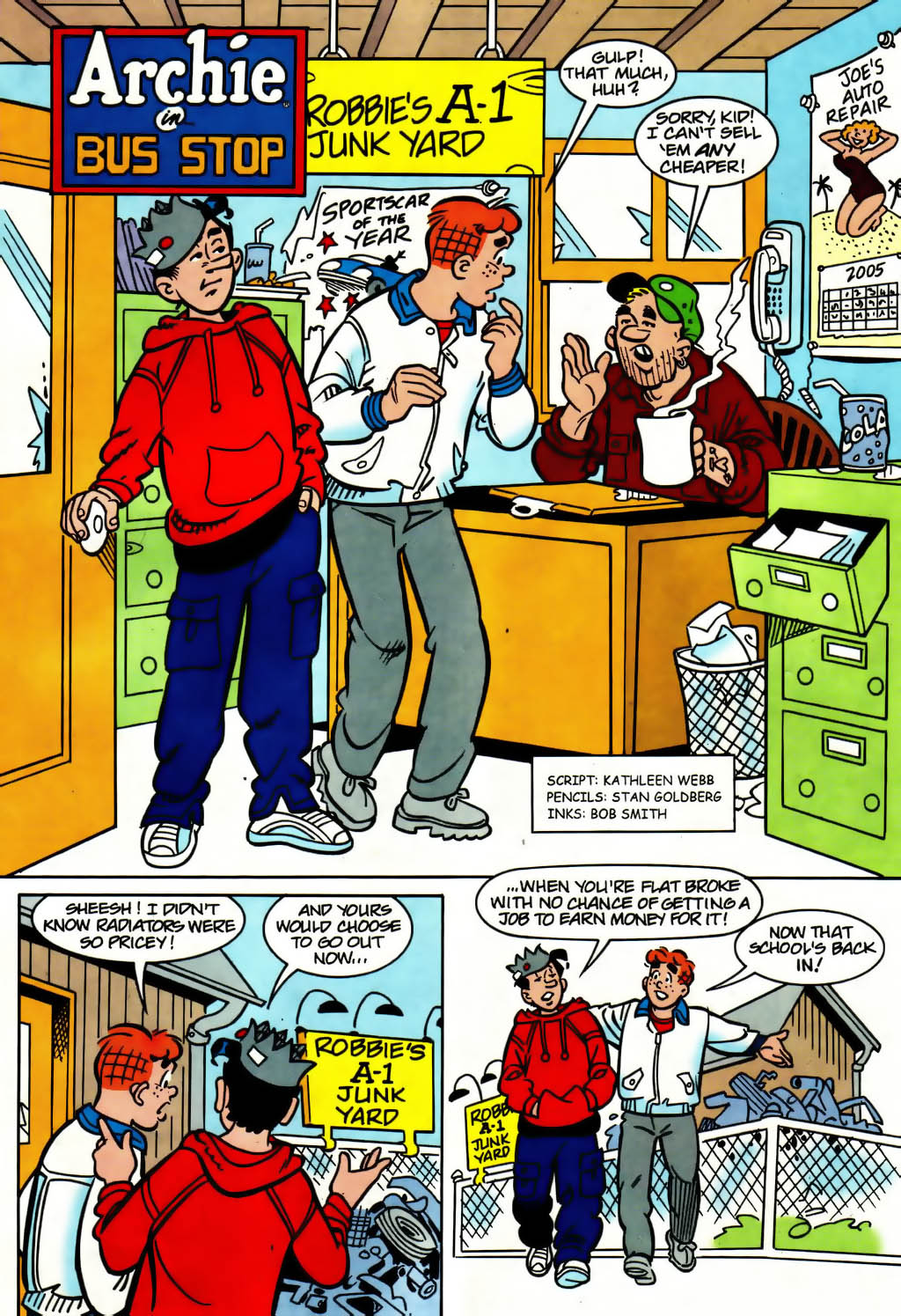 Read online Archie (1960) comic -  Issue #561 - 8