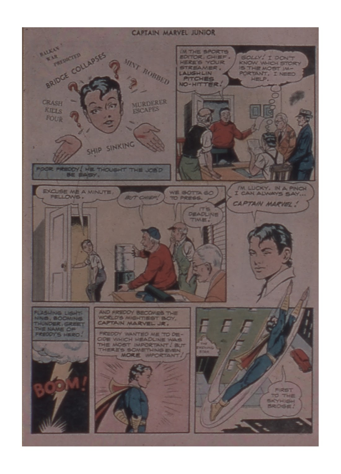 Captain Marvel, Jr. issue 59 - Page 7