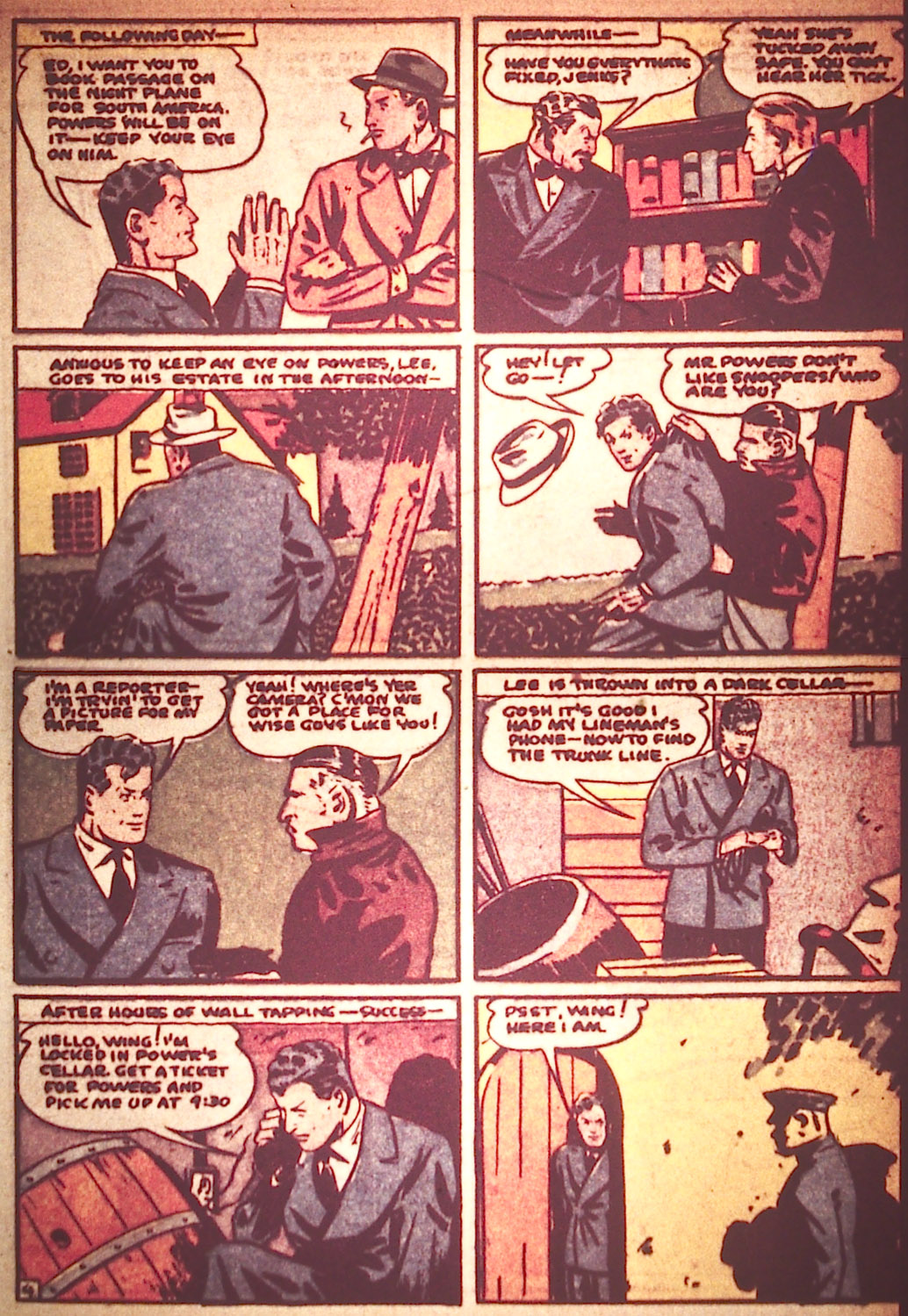 Read online Detective Comics (1937) comic -  Issue #25 - 39