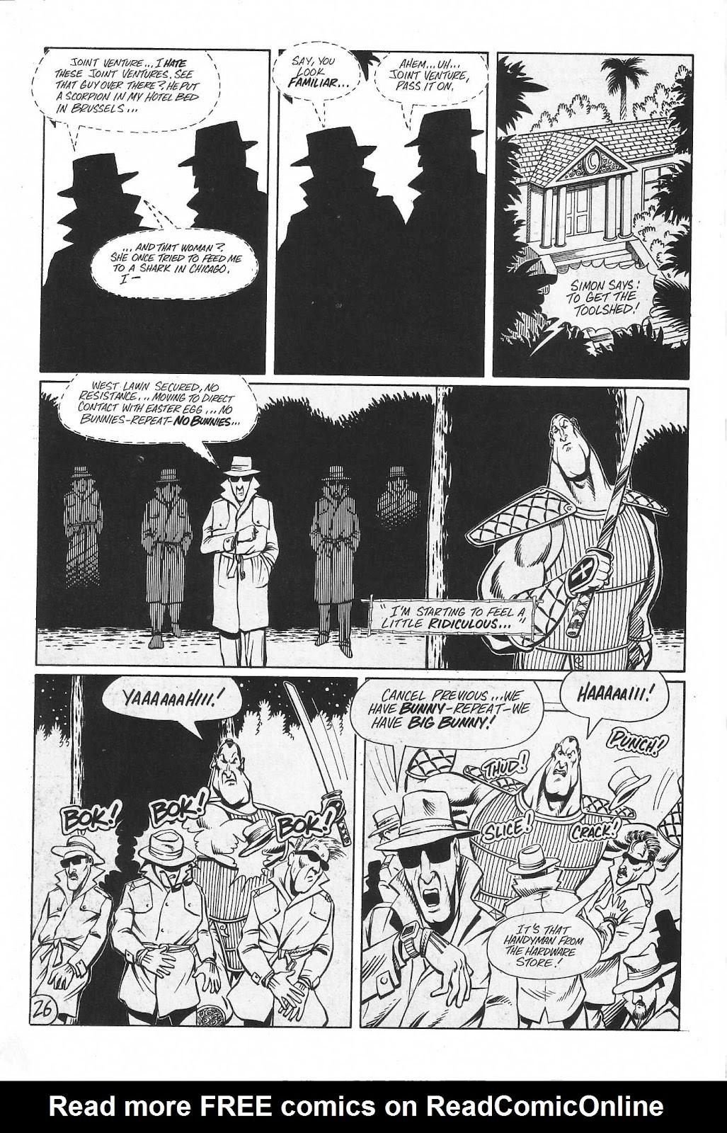 Read online Paul the Samurai (1991) comic -  Issue # TPB - 92