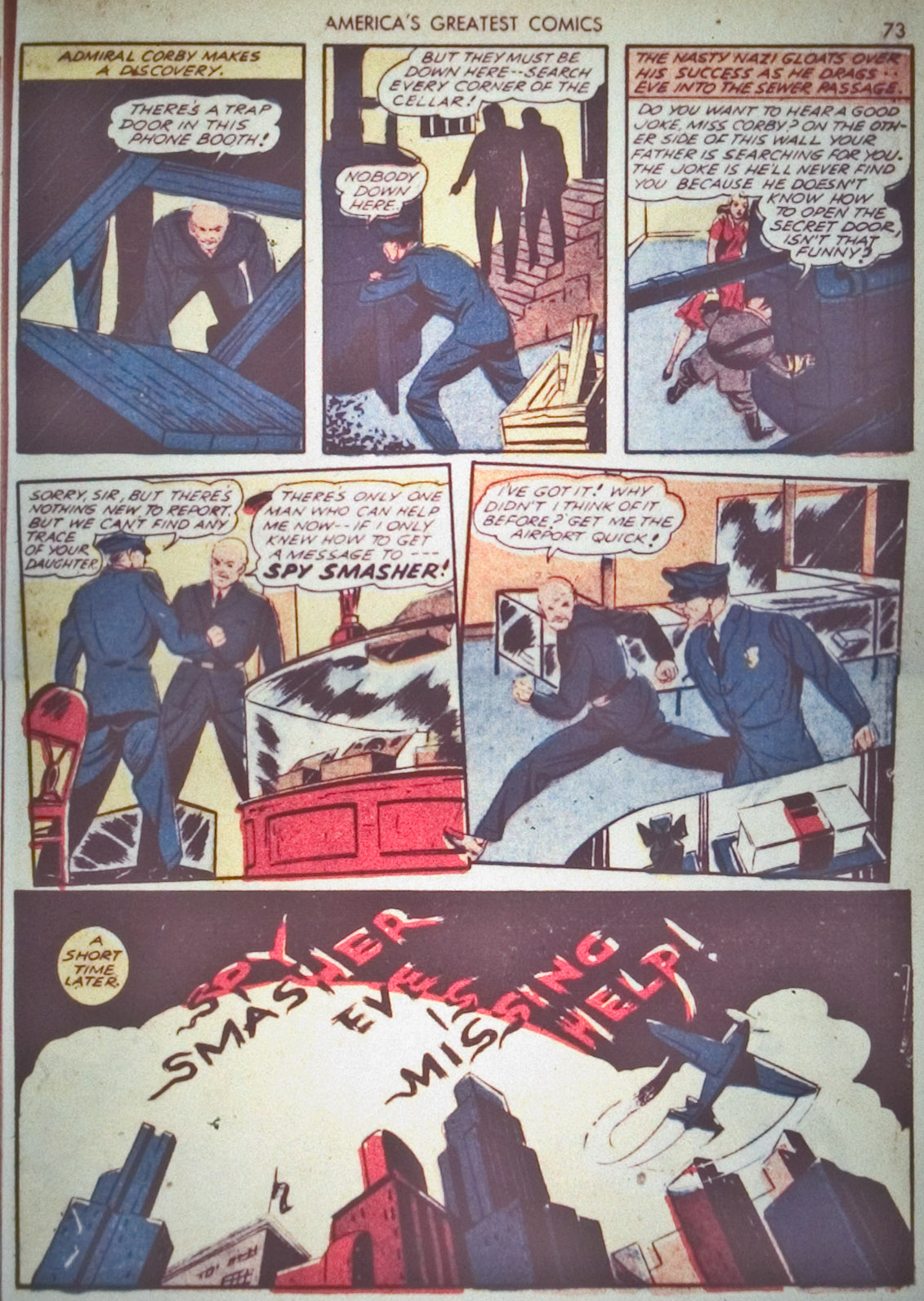 Read online America's Greatest Comics comic -  Issue #1 - 76