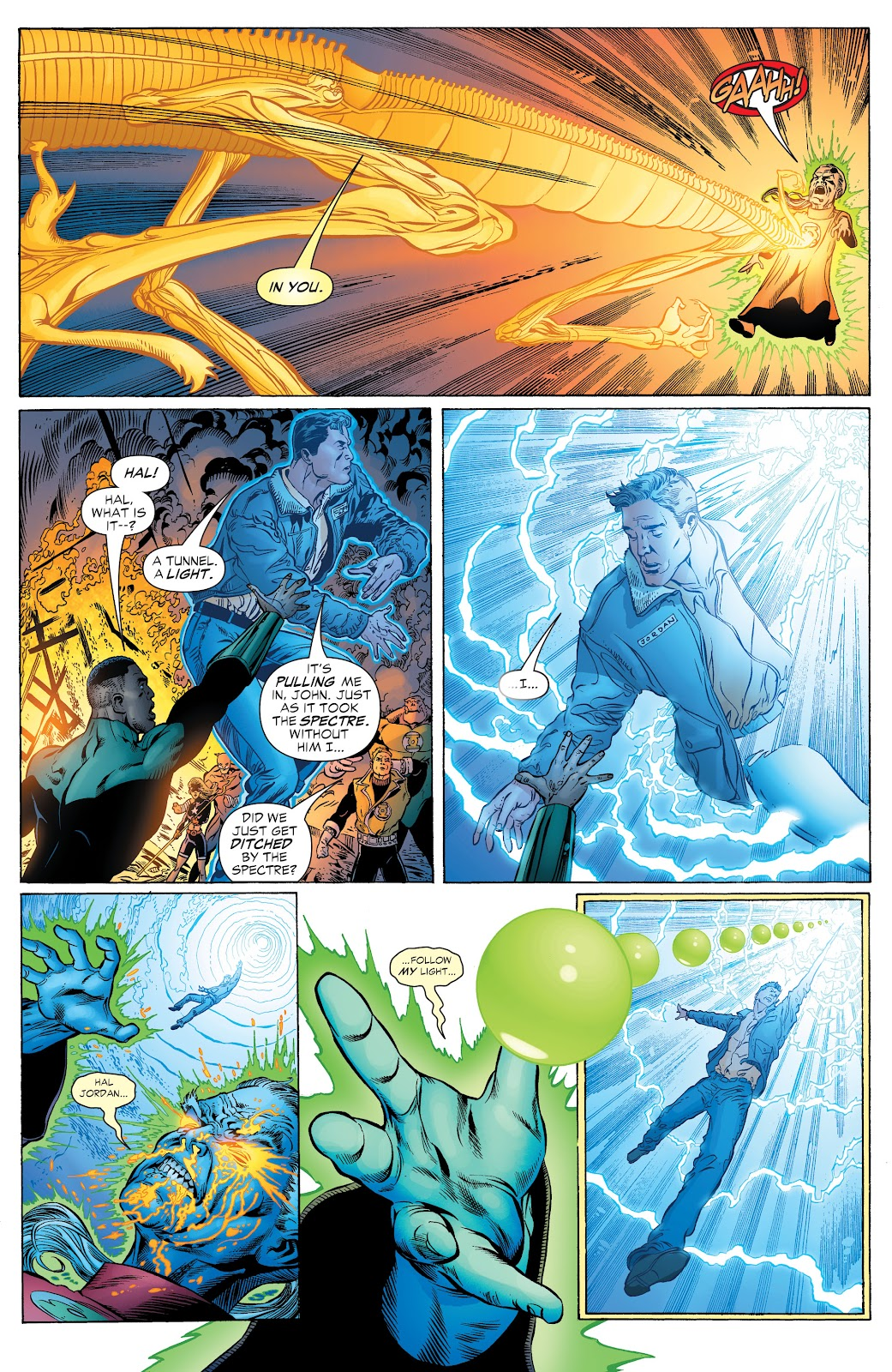 Read online Green Lantern by Geoff Johns comic -  Issue # TPB 1 (Part 2) - 7