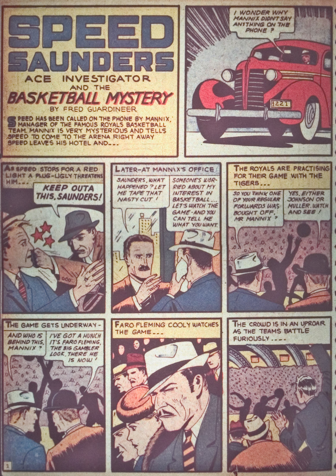 Read online Detective Comics (1937) comic -  Issue #26 - 60