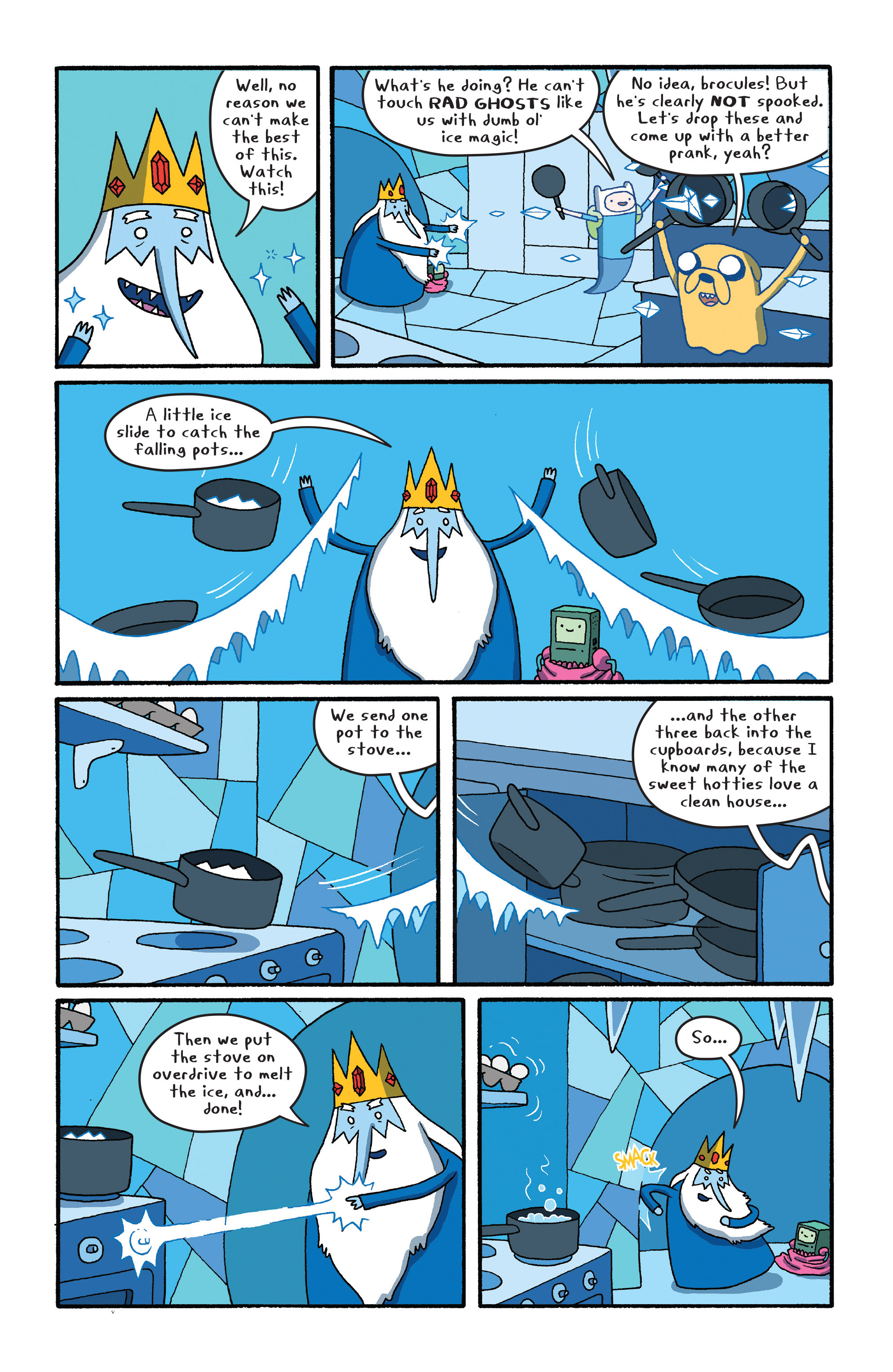 Read online Adventure Time comic -  Issue #27 - 10