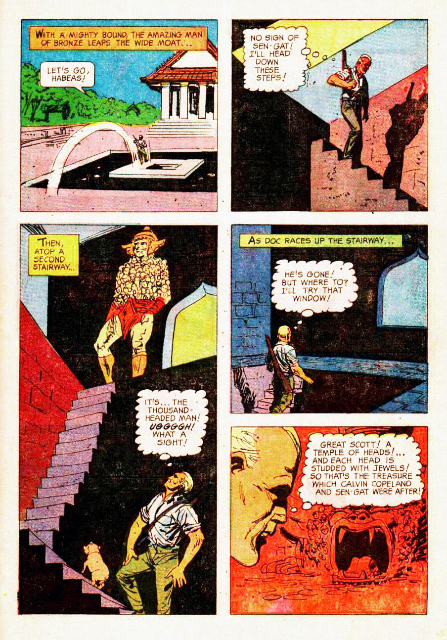 Read online Doc Savage (1966) comic -  Issue # Full - 29