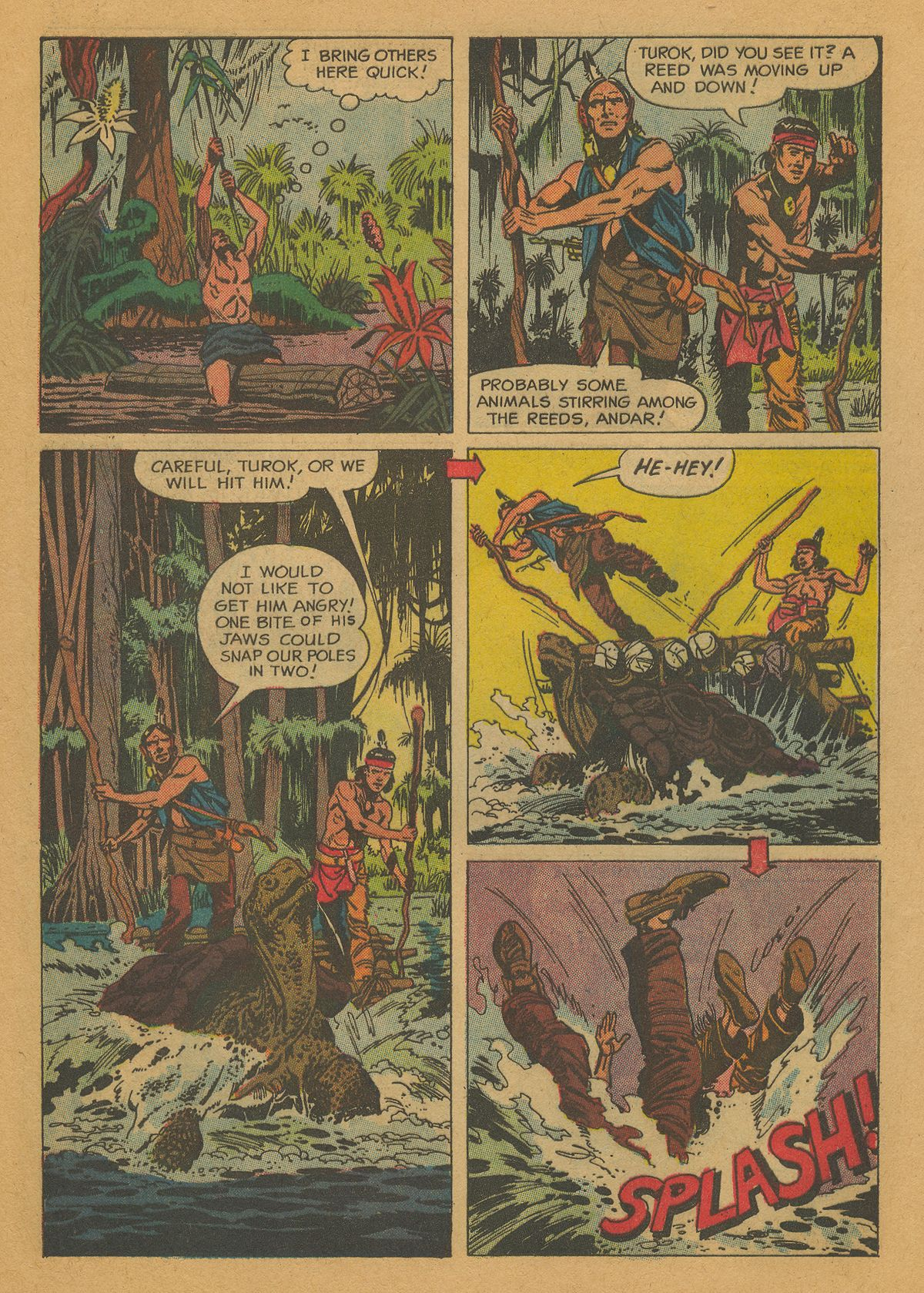 Read online Turok, Son of Stone comic -  Issue #26 - 27