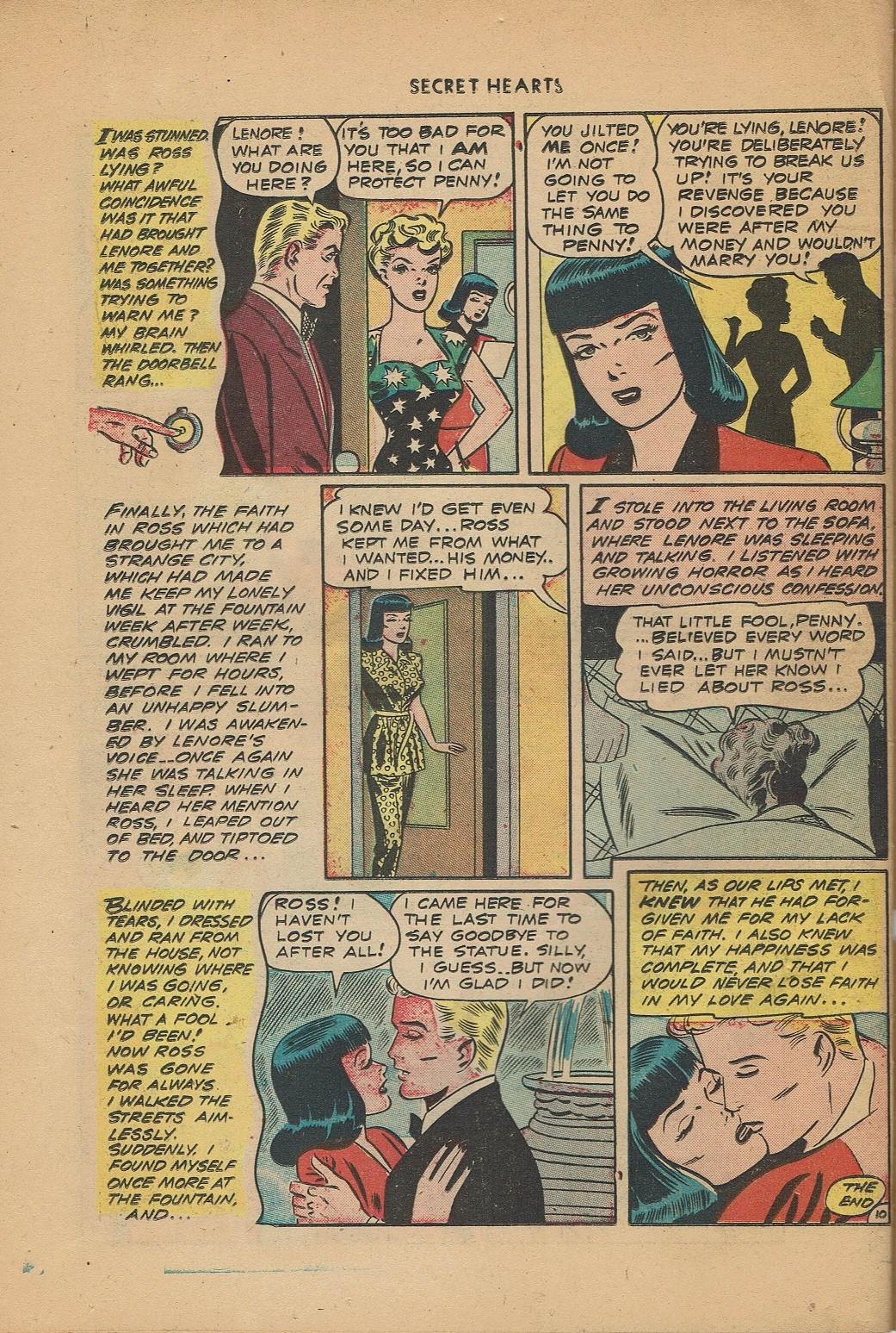 Read online Secret Hearts comic -  Issue #2 - 34
