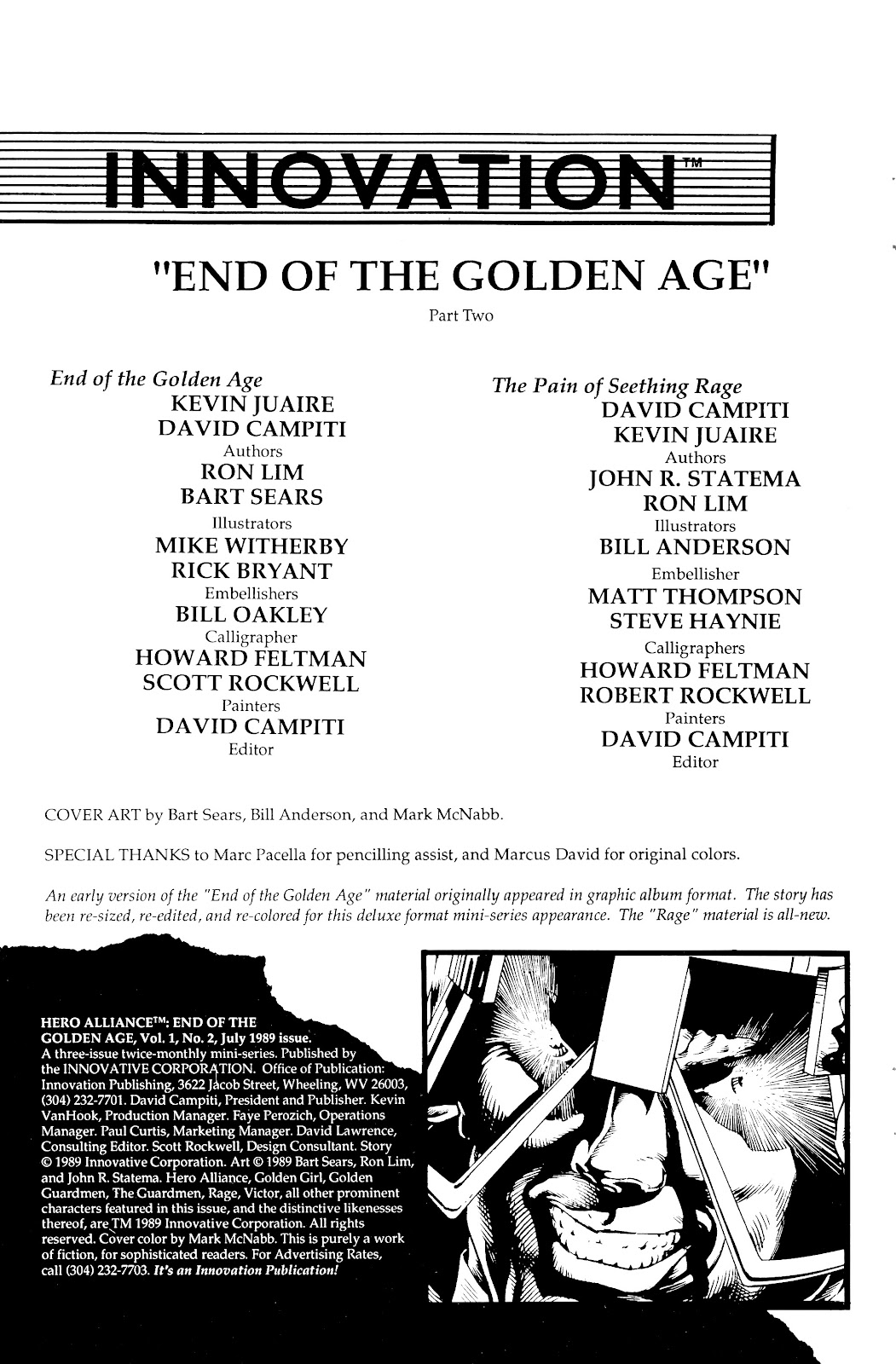 Read online Hero Alliance: End of Golden Age comic -  Issue #2 - 2