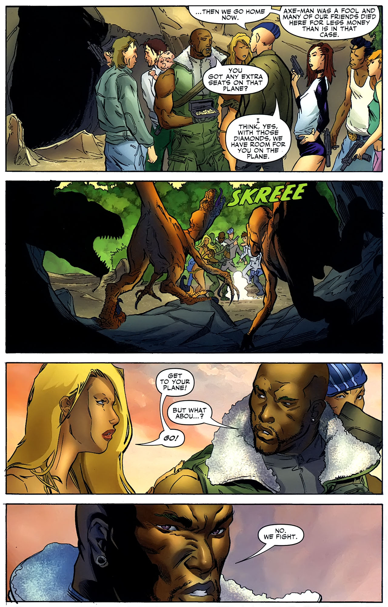 Read online Shanna the She-Devil: Survival of the Fittest comic -  Issue #4 - 12
