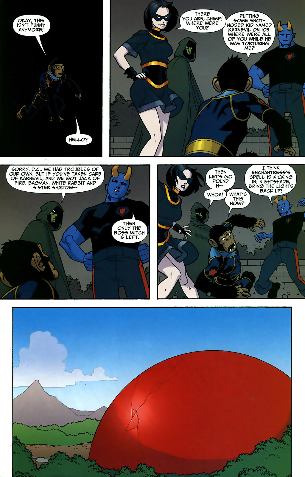 Read online Shadowpact comic -  Issue #3 - 20