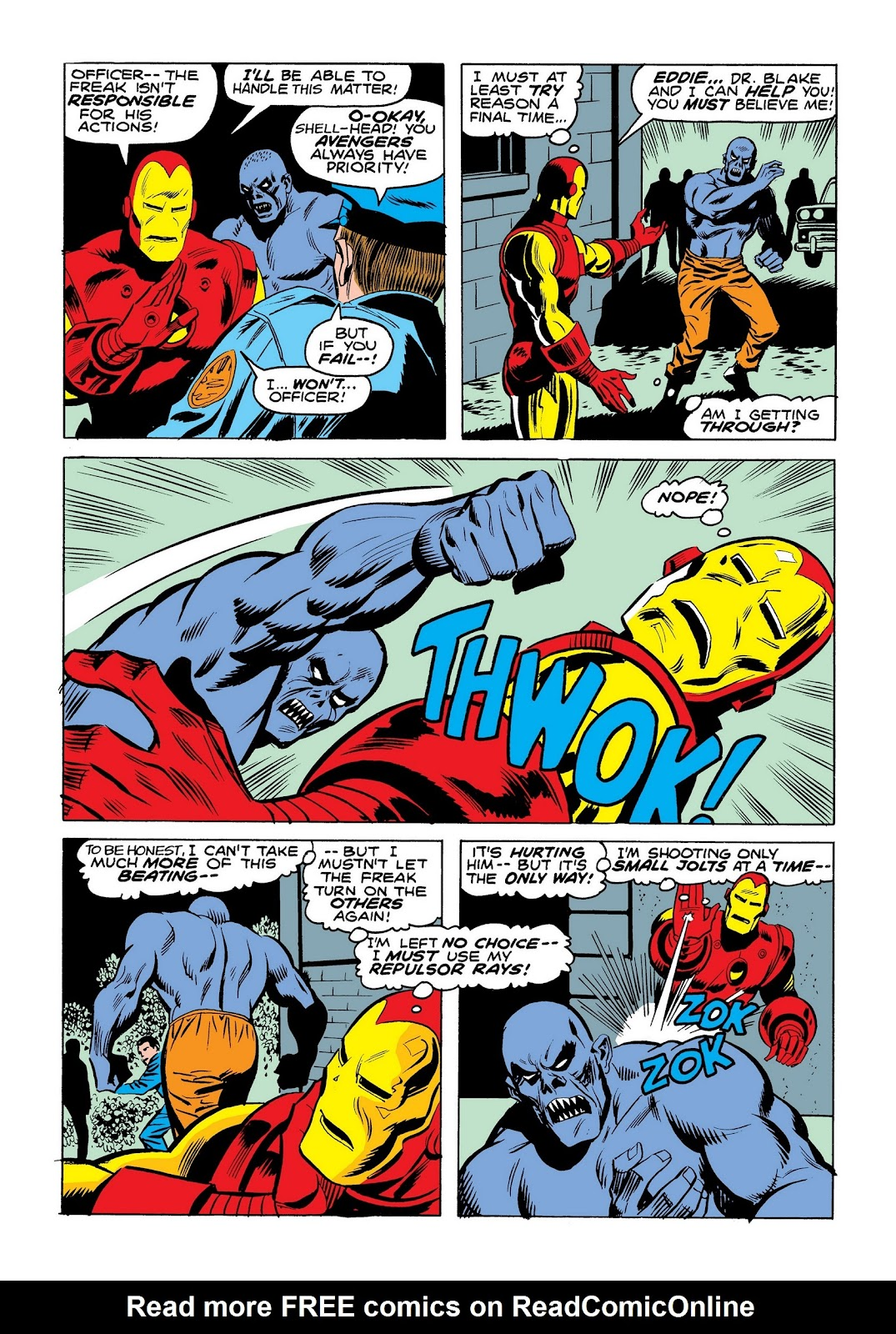 Read online Marvel Masterworks: The Invincible Iron Man comic -  Issue # TPB 9 (Part 3) - 87
