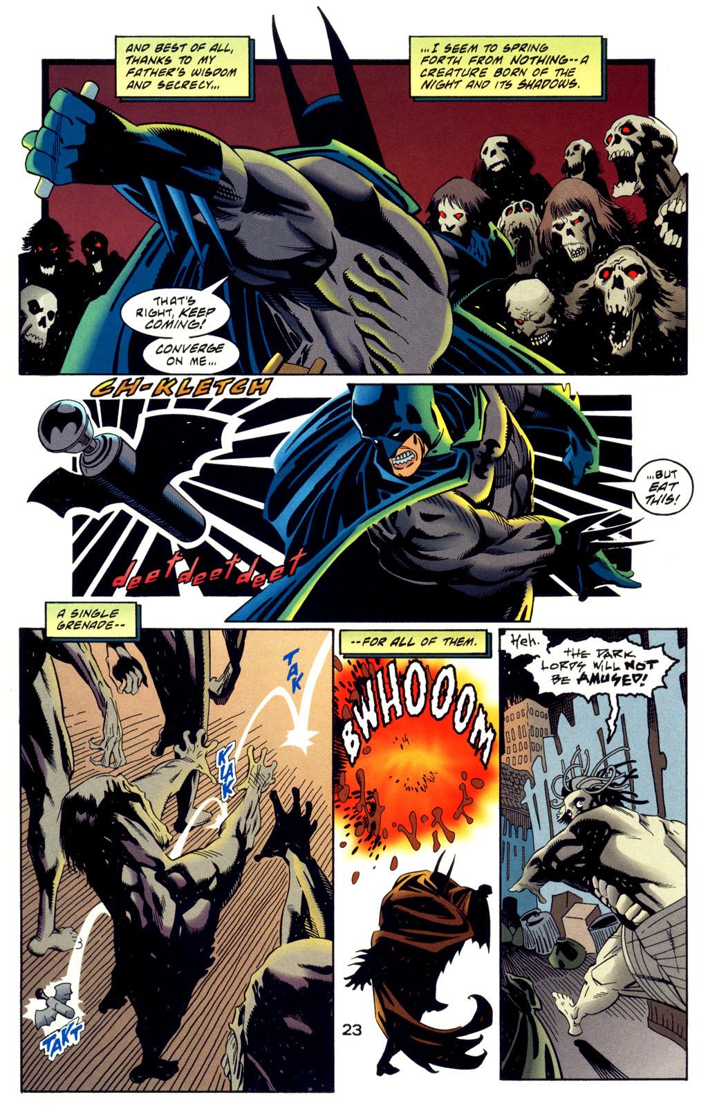 Read online Batman: Haunted Gotham comic -  Issue #2 - 25