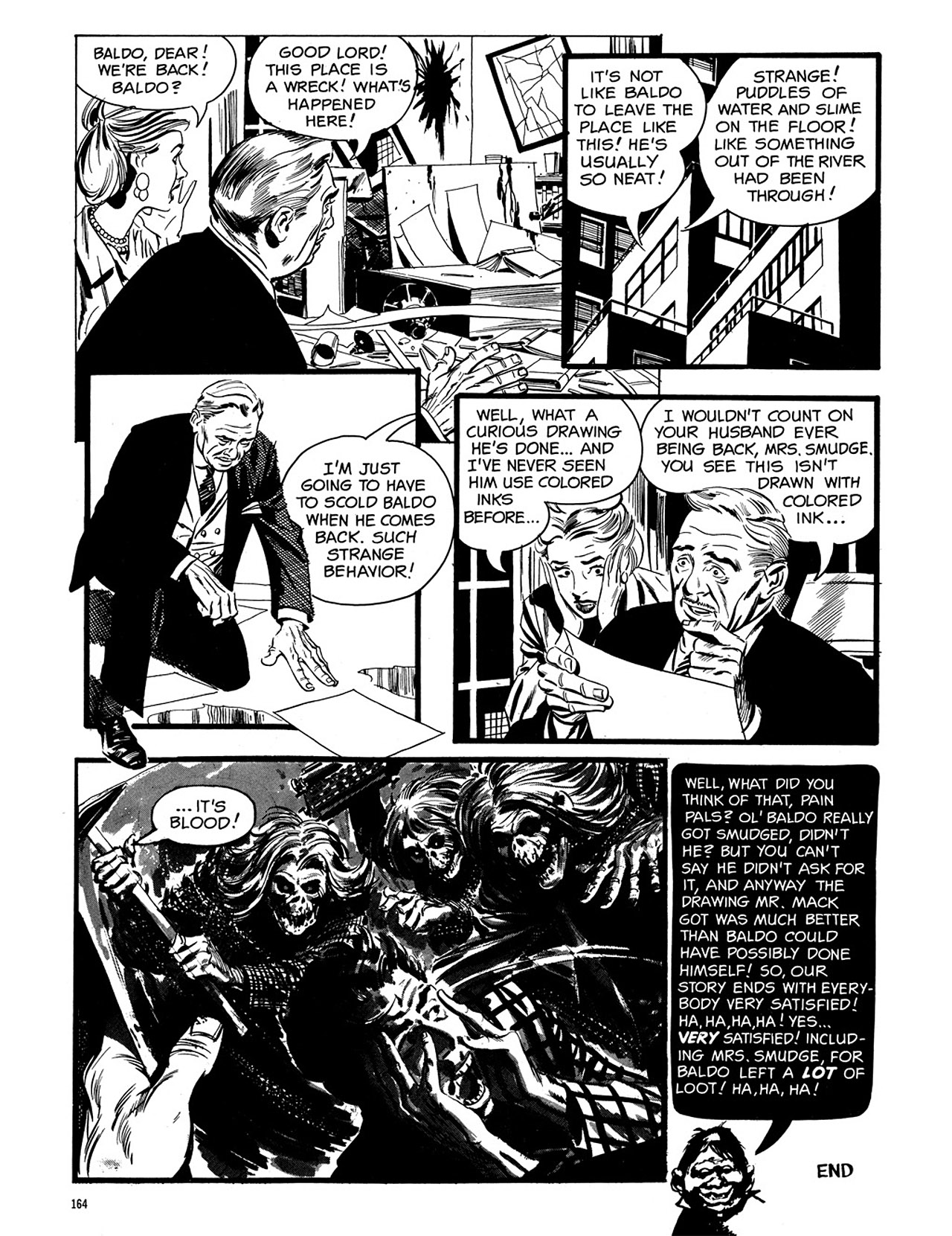 Read online Eerie Archives comic -  Issue # TPB 3 - 165