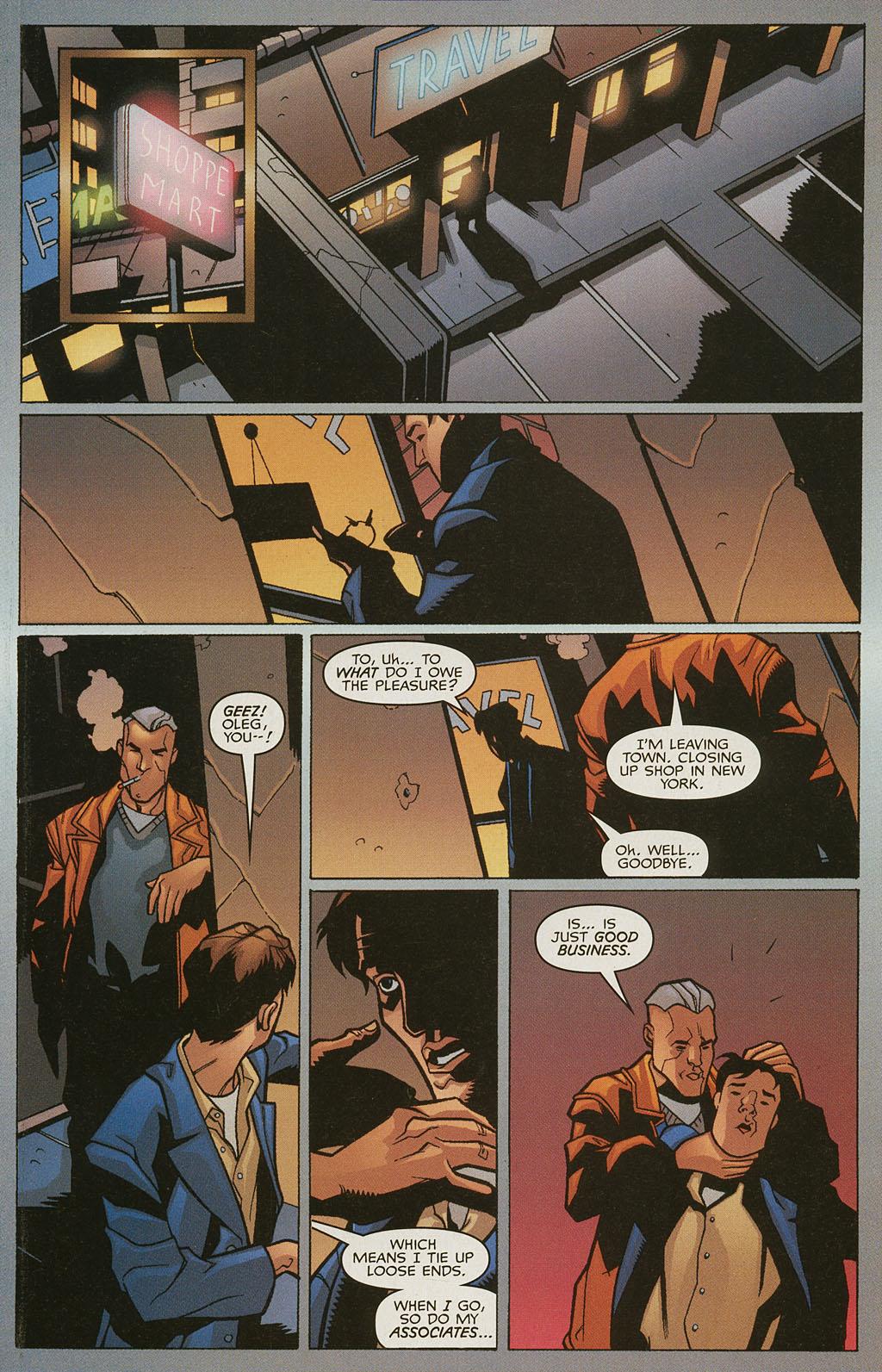 Read online Nightcrawler (2002) comic -  Issue #4 - 14