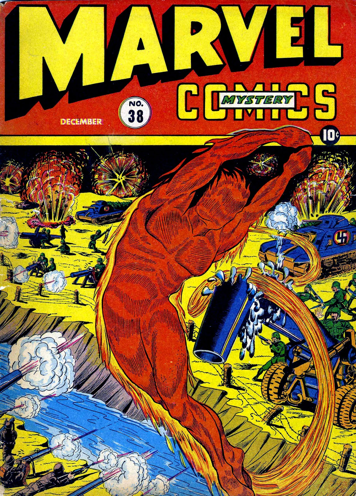Marvel Mystery Comics 38 Page 1