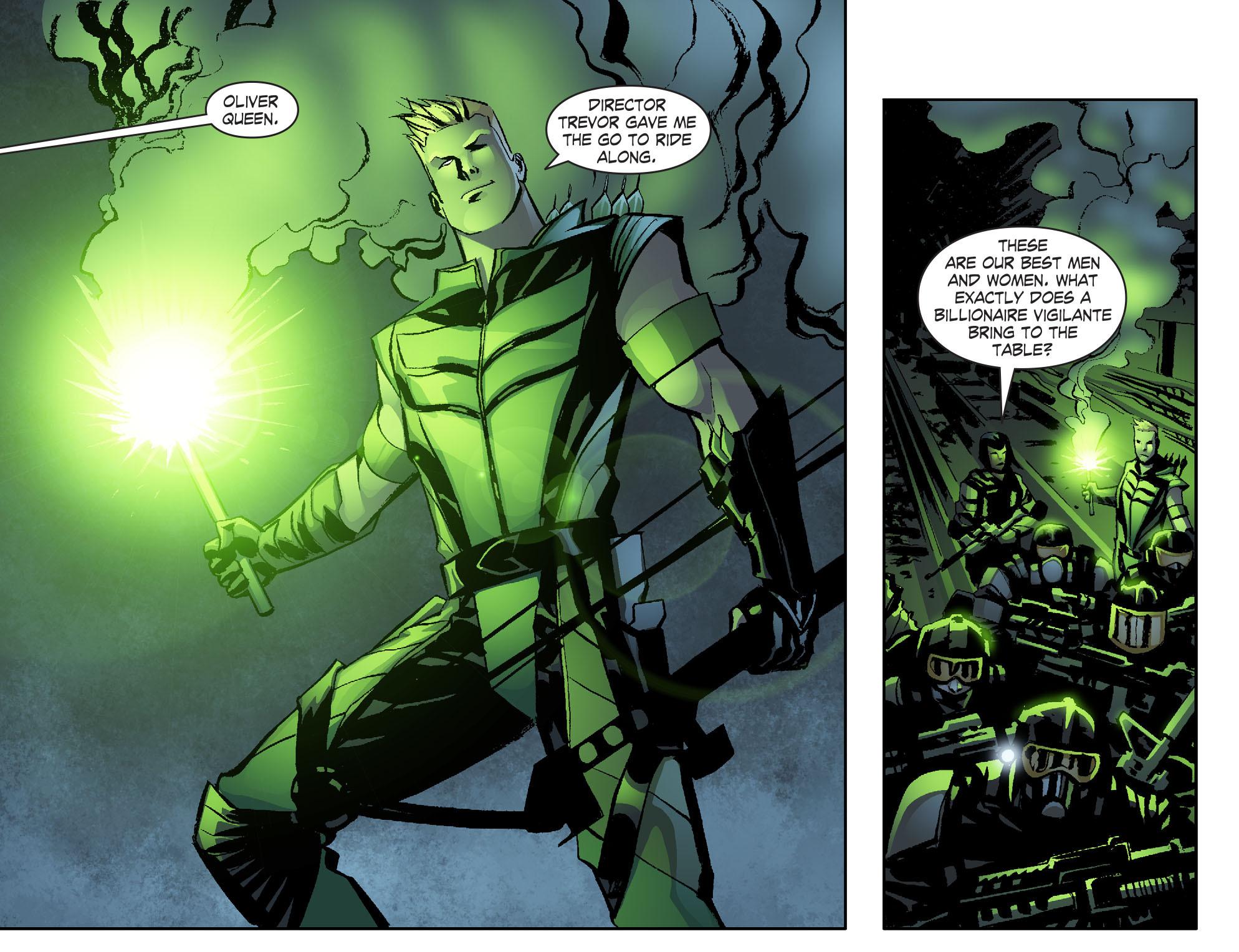 Read online Smallville: Lantern [I] comic -  Issue #6 - 11