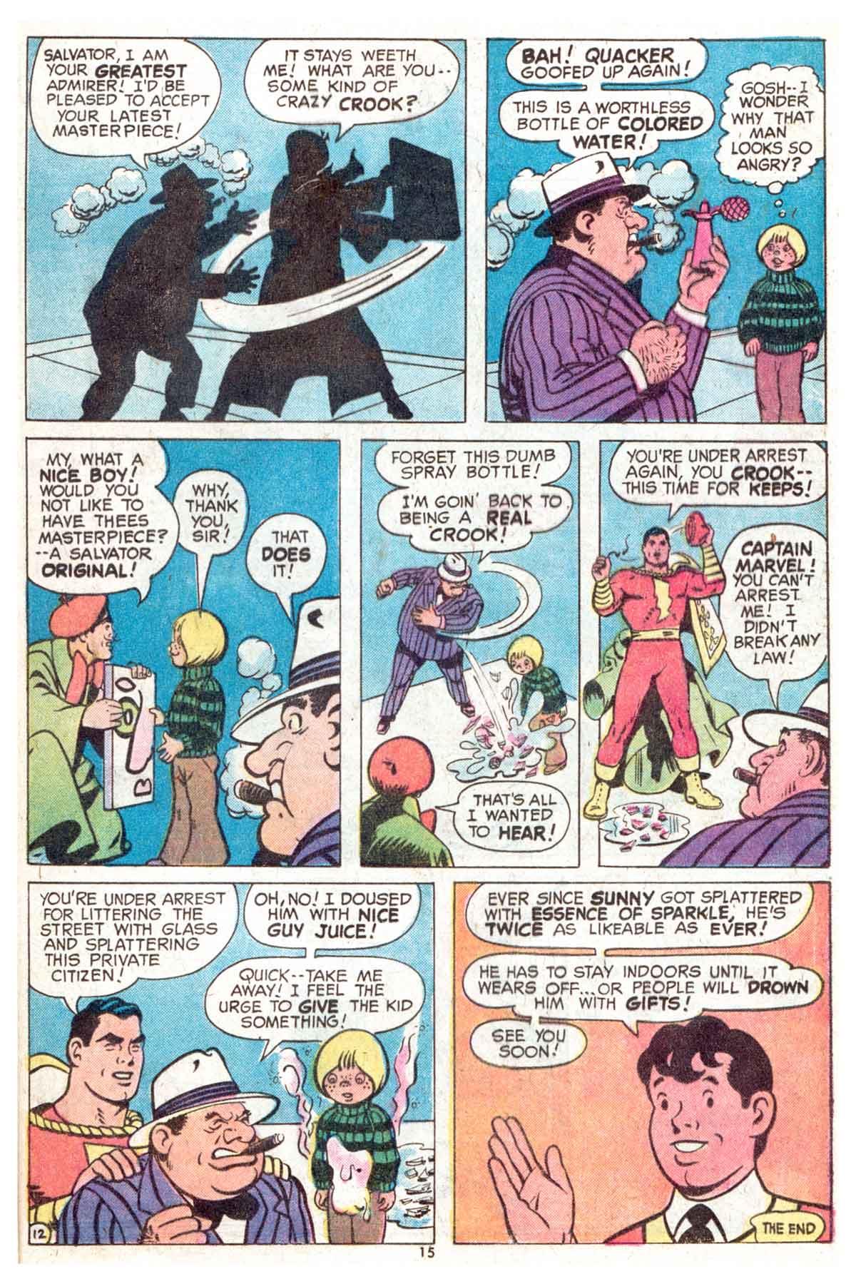Read online Shazam! (1973) comic -  Issue #13 - 16