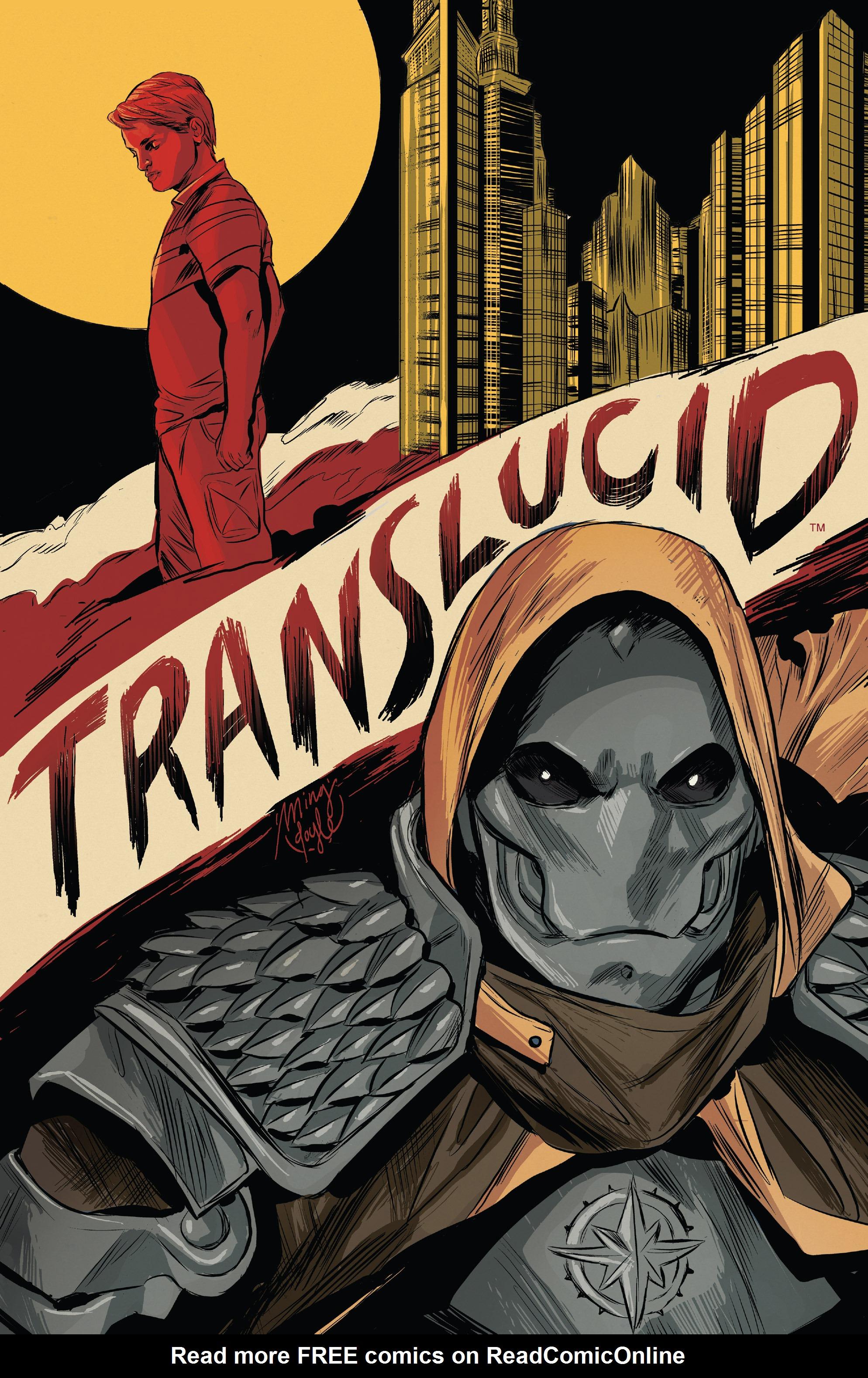 Read online Translucid comic -  Issue #1 - 2