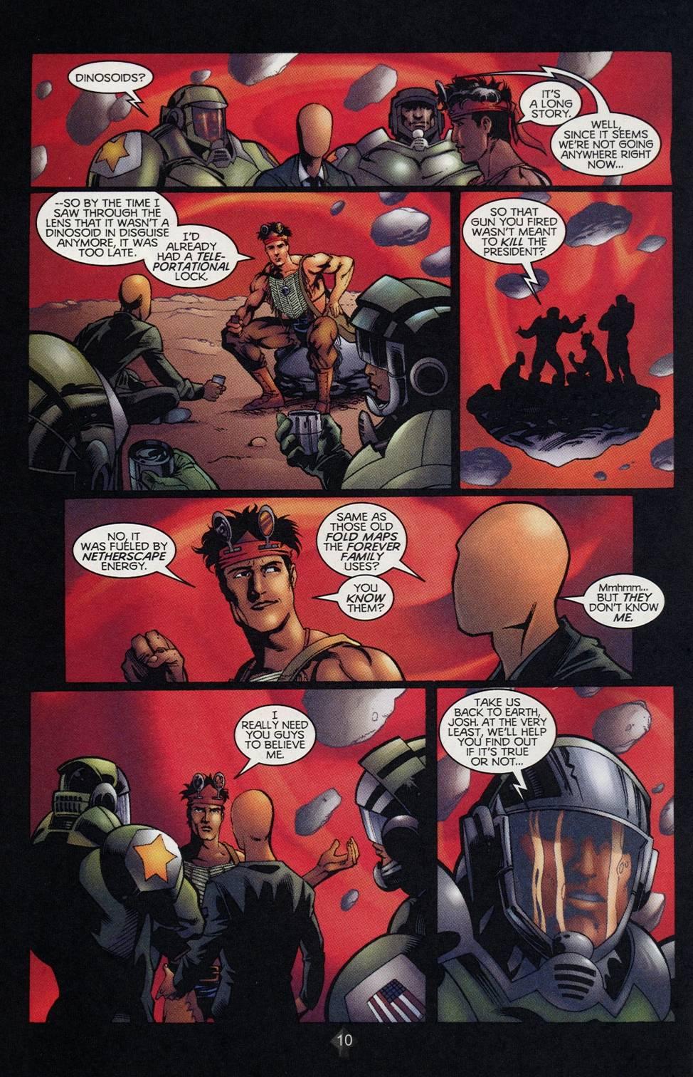 Read online Turok comic -  Issue #2 - 8