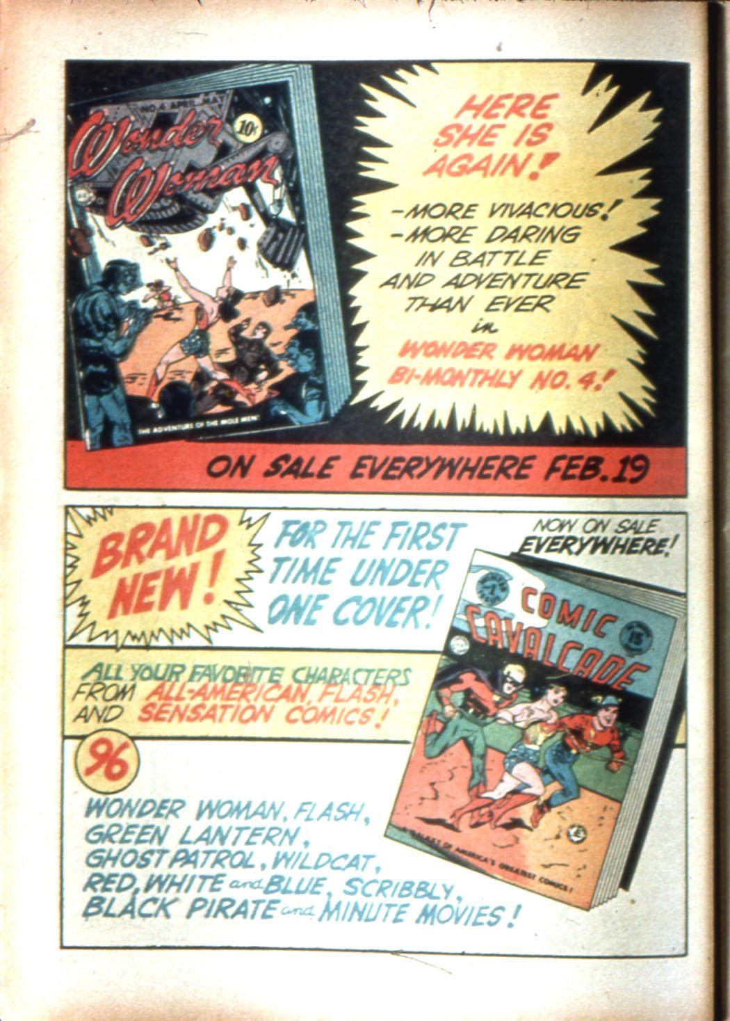 Read online Sensation (Mystery) Comics comic -  Issue #16 - 16