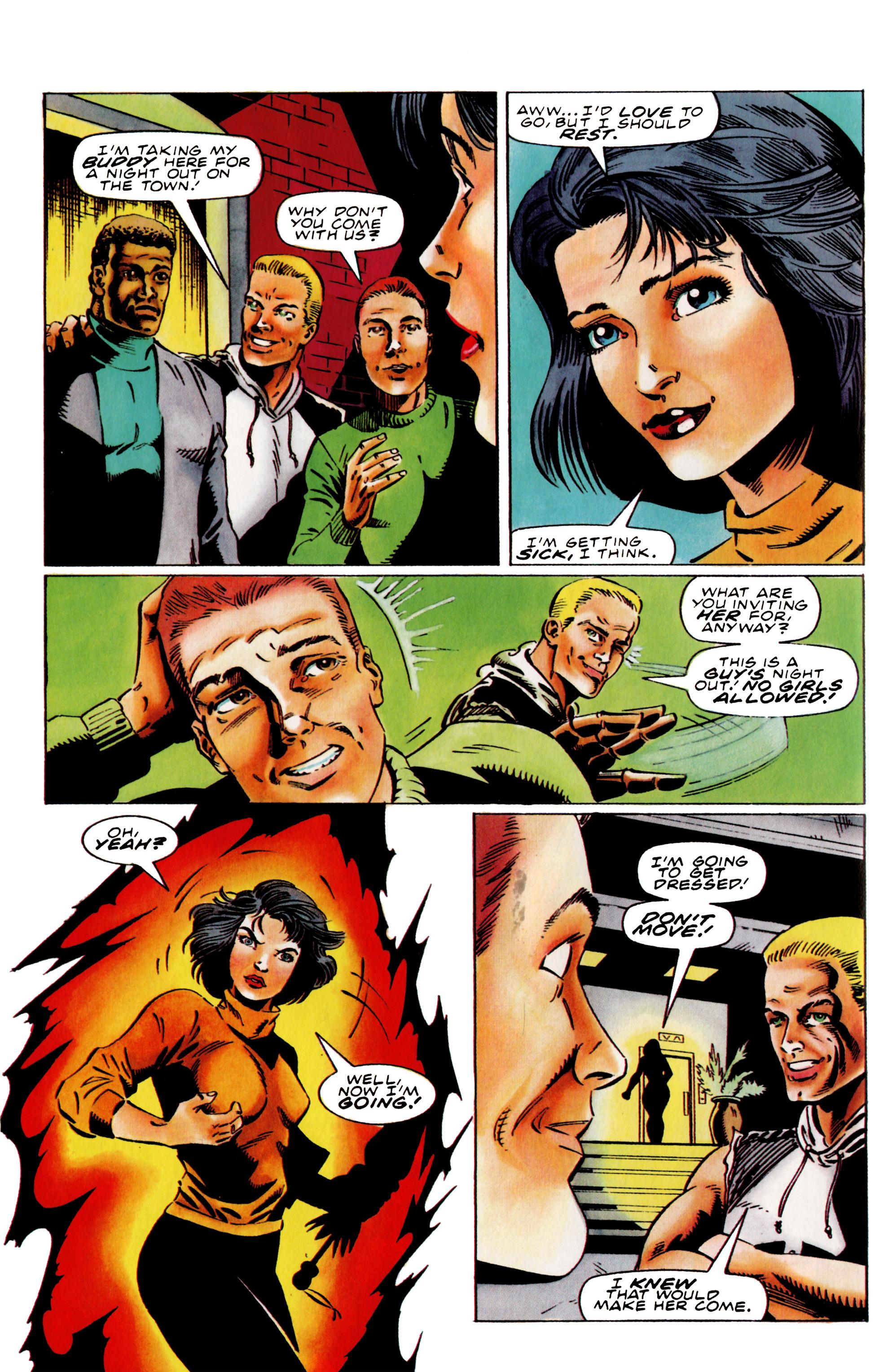 Read online Harbinger (1992) comic -  Issue #38 - 12