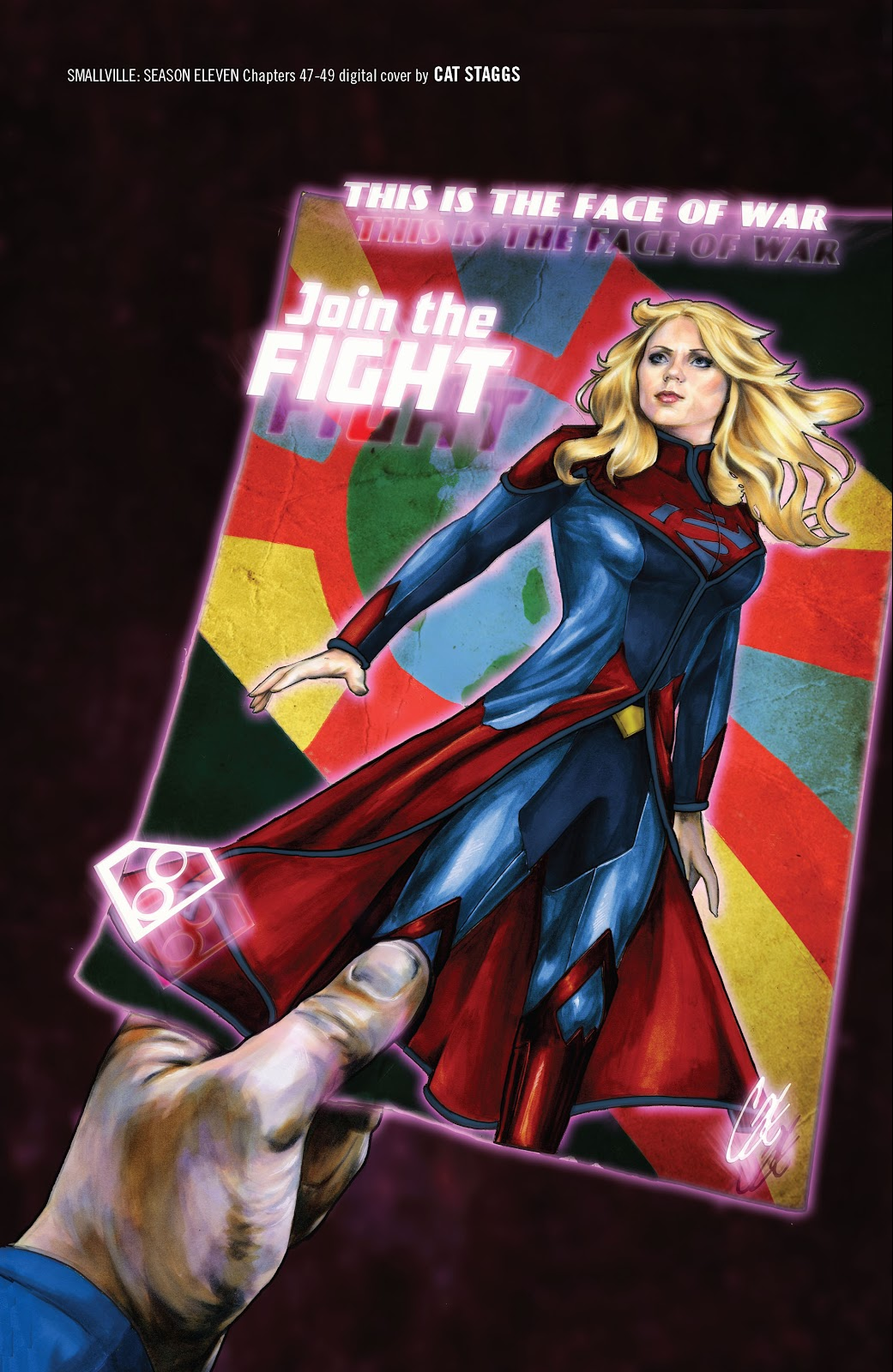 Read online Smallville Season 11 [II] comic -  Issue # TPB 4 - 144