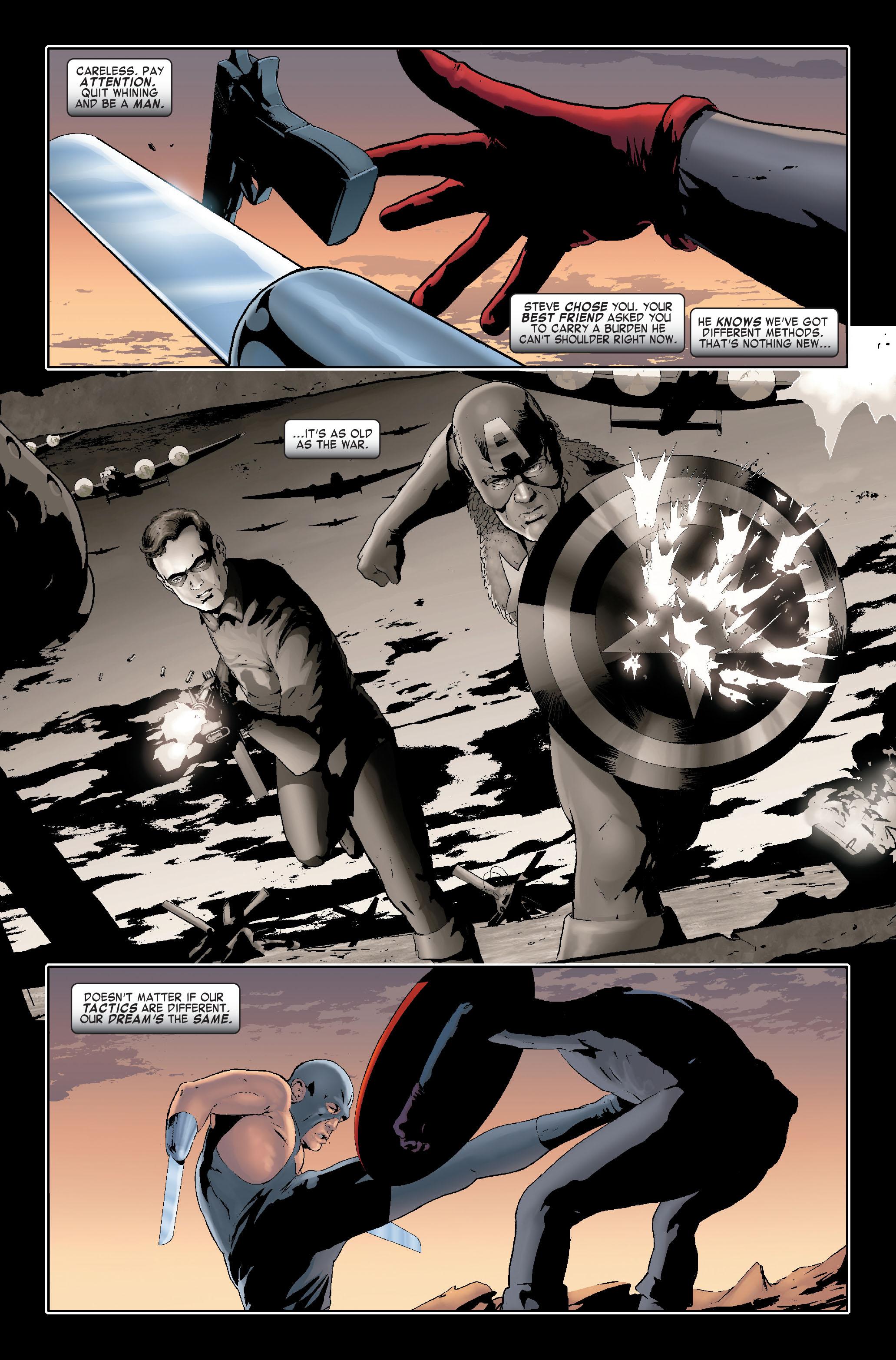 Read online Siege: Captain America comic -  Issue # Full - 17