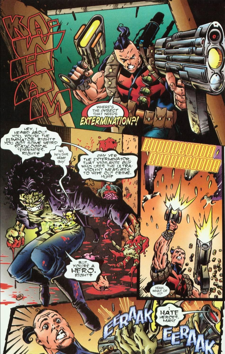 Read online Evil Ernie vs. the Superheroes comic -  Issue #1 - 12